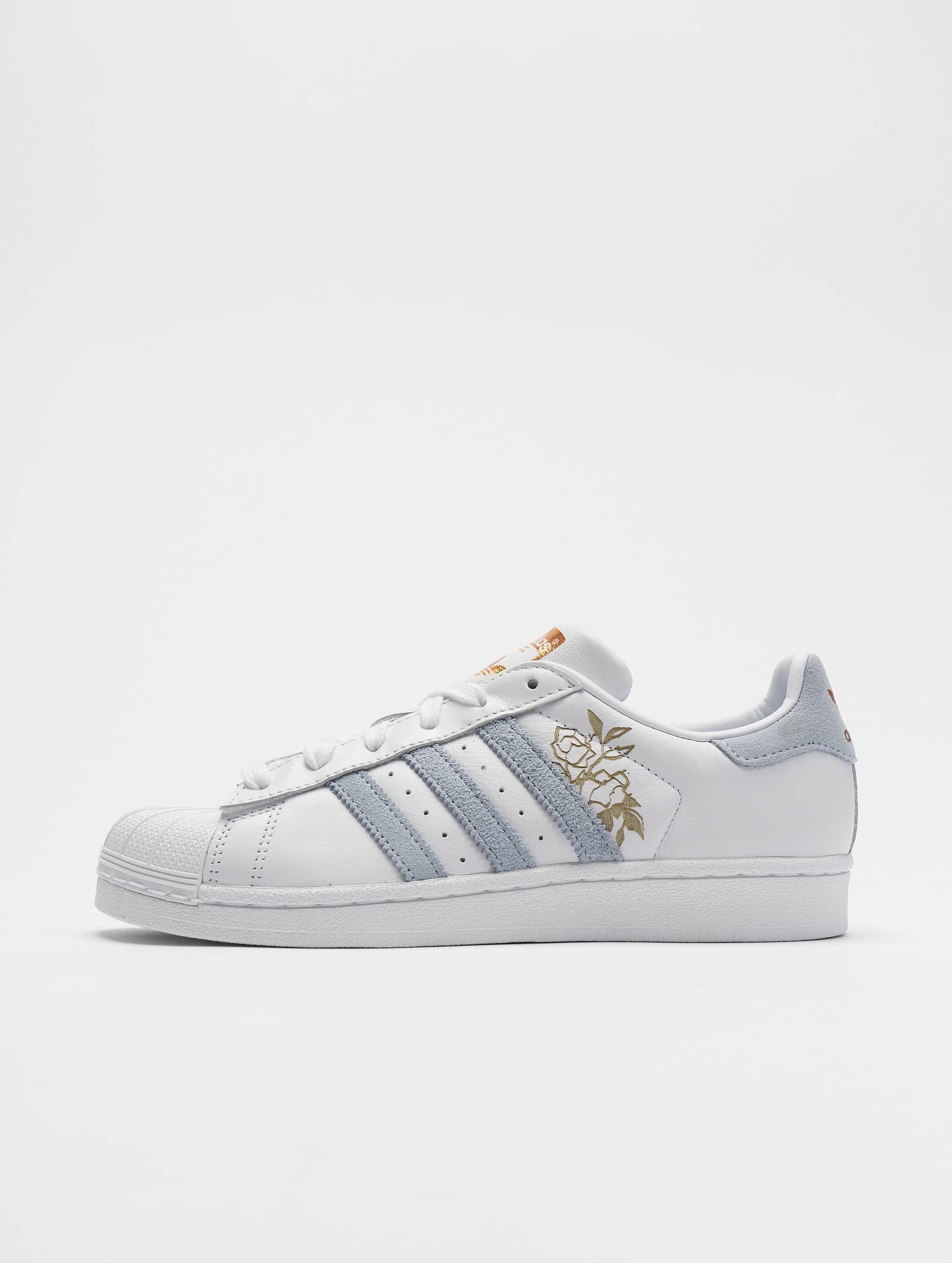 Adidas Originals Superstar Sneakers Ftwr WhitePeriwinkleCopper Met