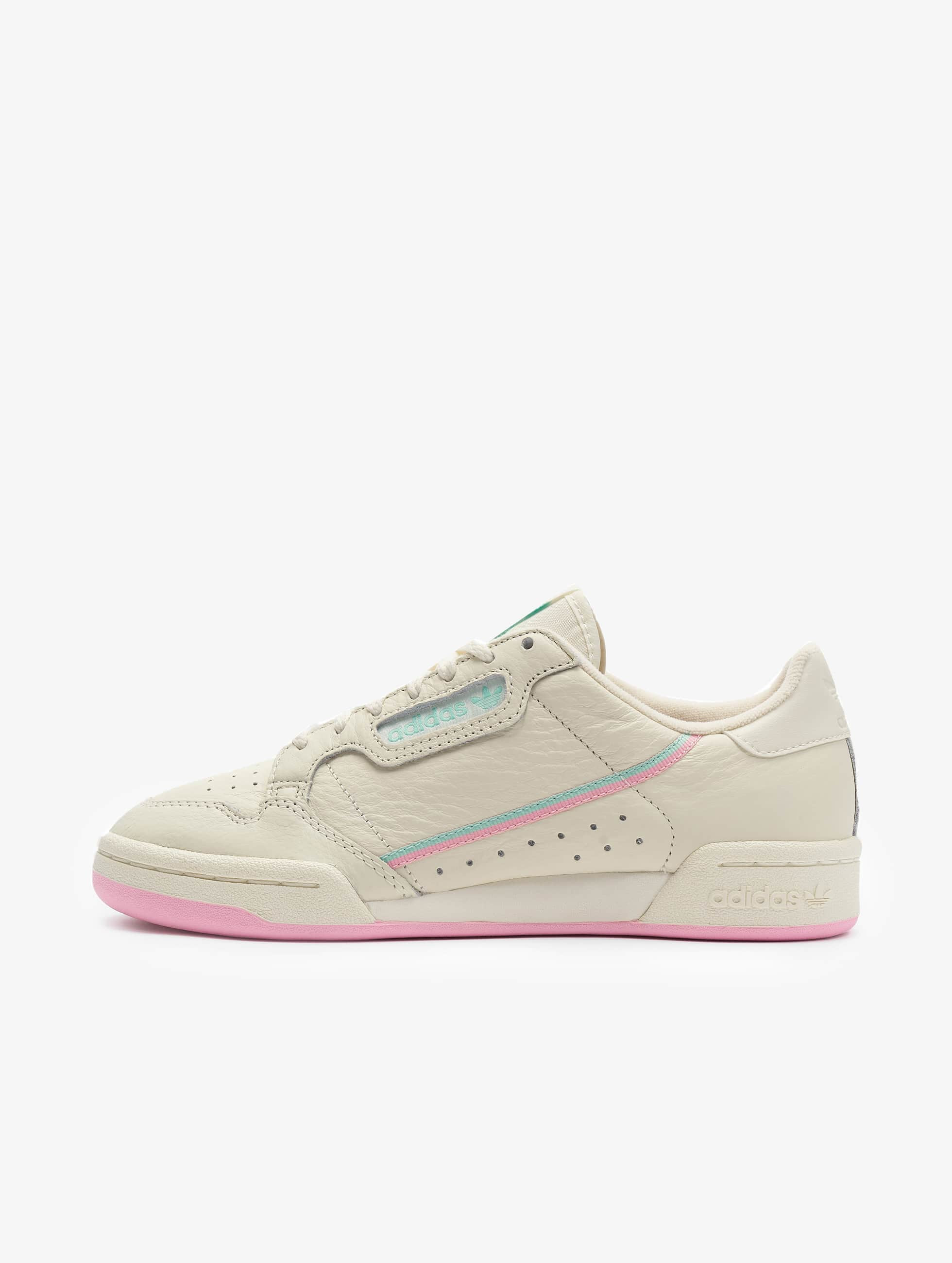 Adidas Originals Continental 80 Sneakers Off WhiteTrue PinkClear Mint