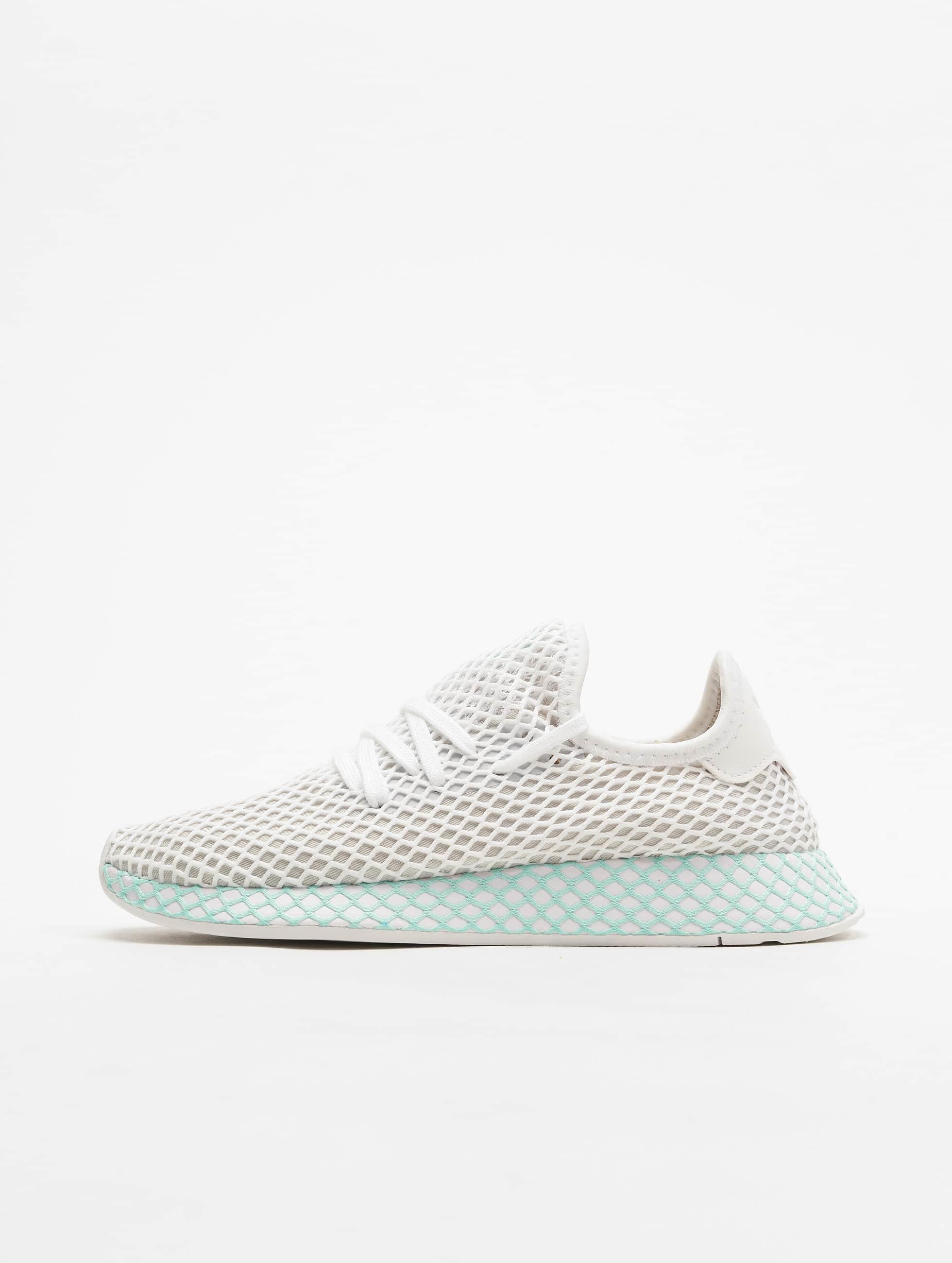 Adidas Originals Deerupt Runner Sneakers Ftw WhiteGrey OneClear Mint