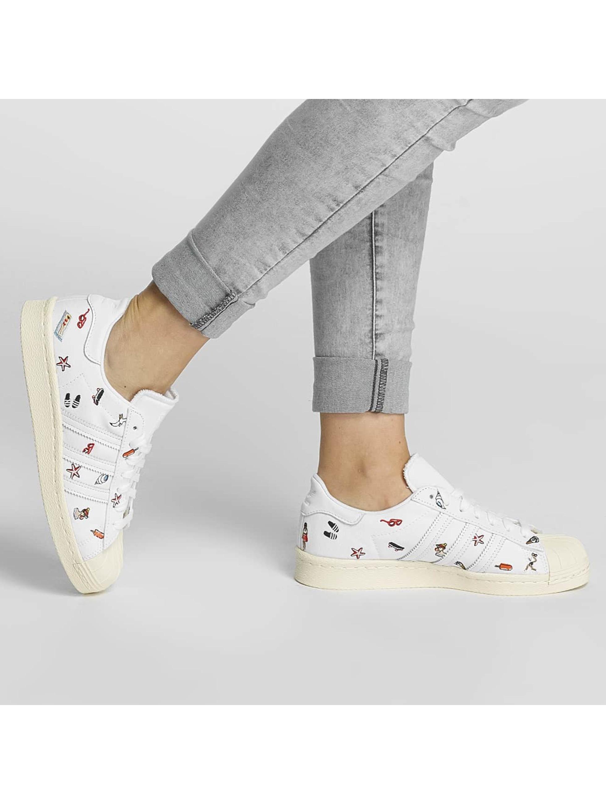 adidas originals Sneakers Superstar 80s W S bialy