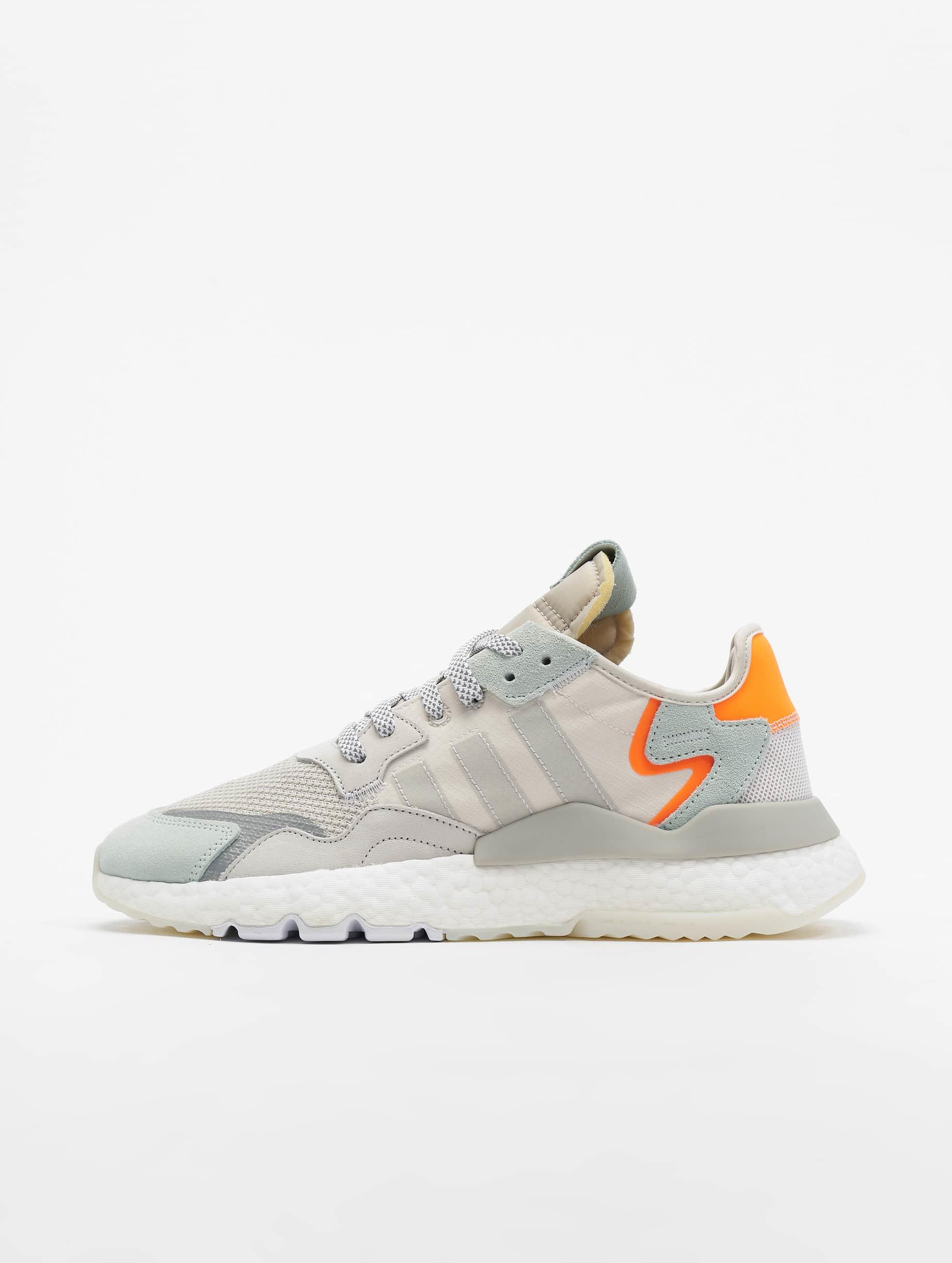 Adidas Originals Nite Jogger Sneakers Raw WhiteGrey OneVapor Green
