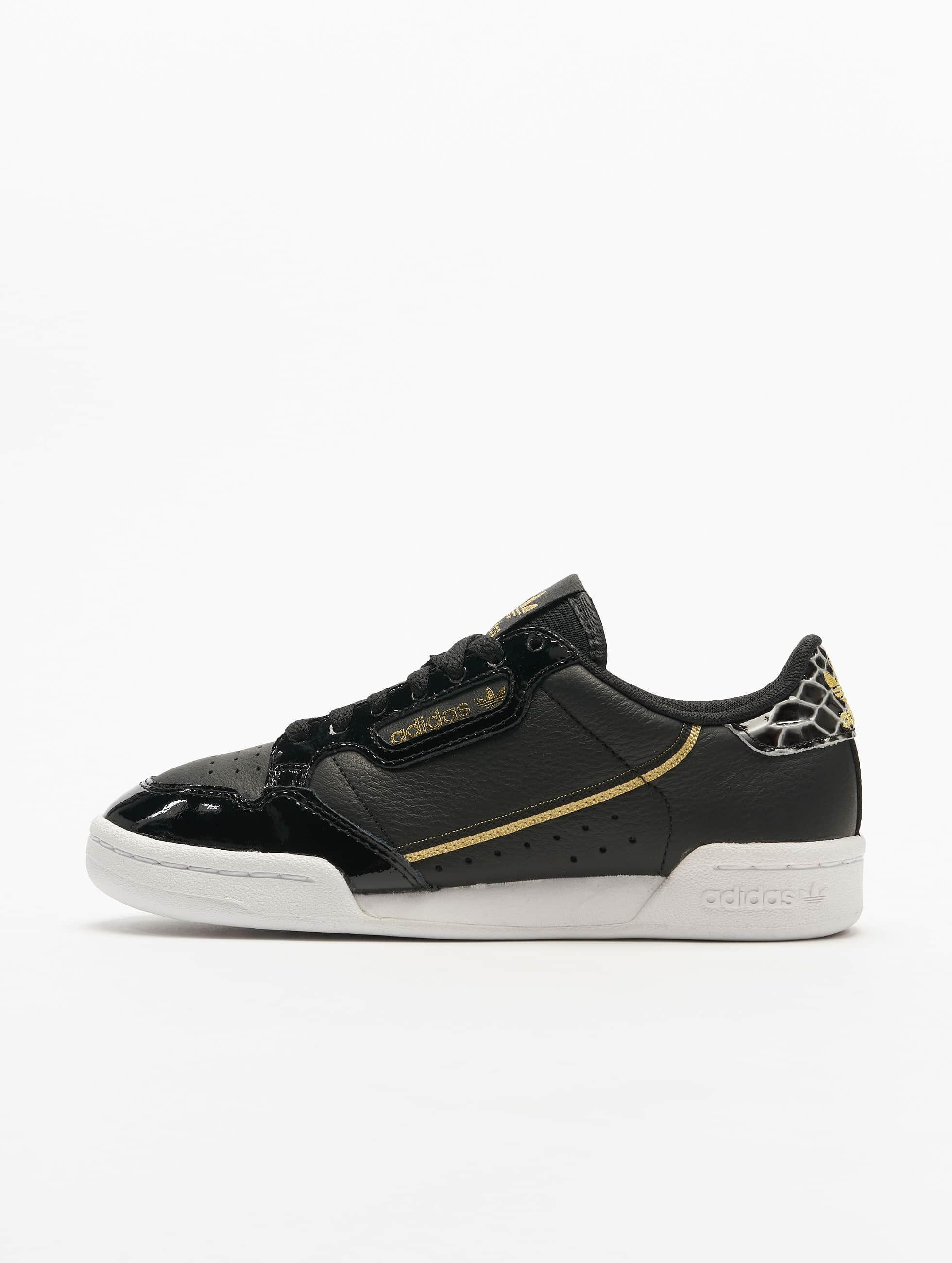 Adidas Continental 80 Sneakers Core BlackFtwr WhiteGolden Met.