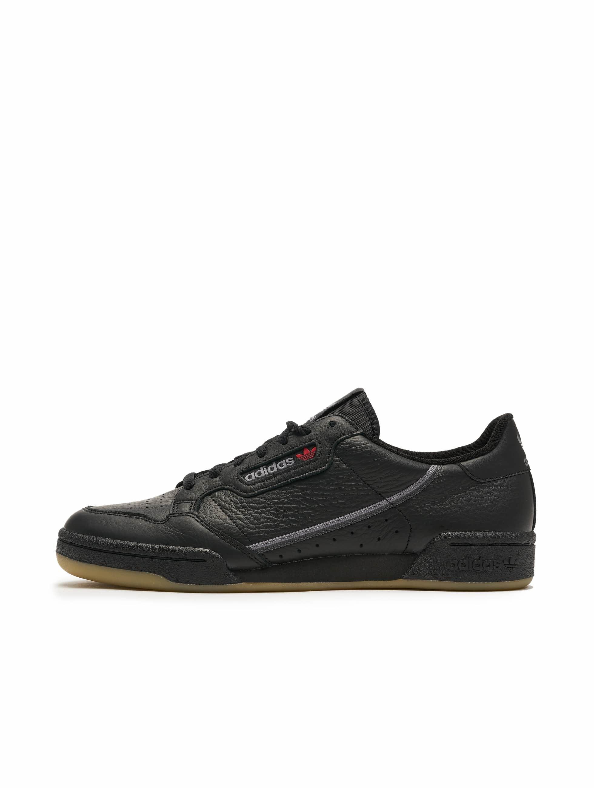 Adidas Originals Continental 80 Sneakers Core BlackGrey Three F17Gum 3