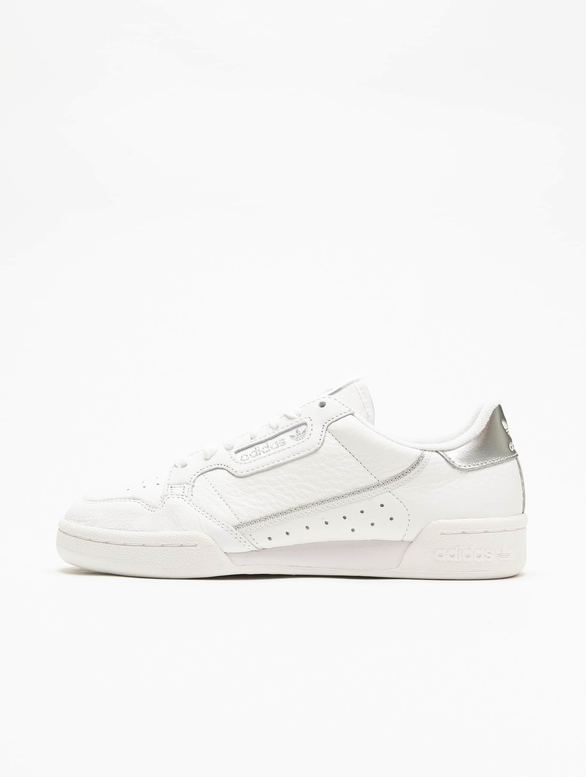 Adidas Originals Continental 80 Sneakers Ftw WhiteFtw WhiteSilvern Met