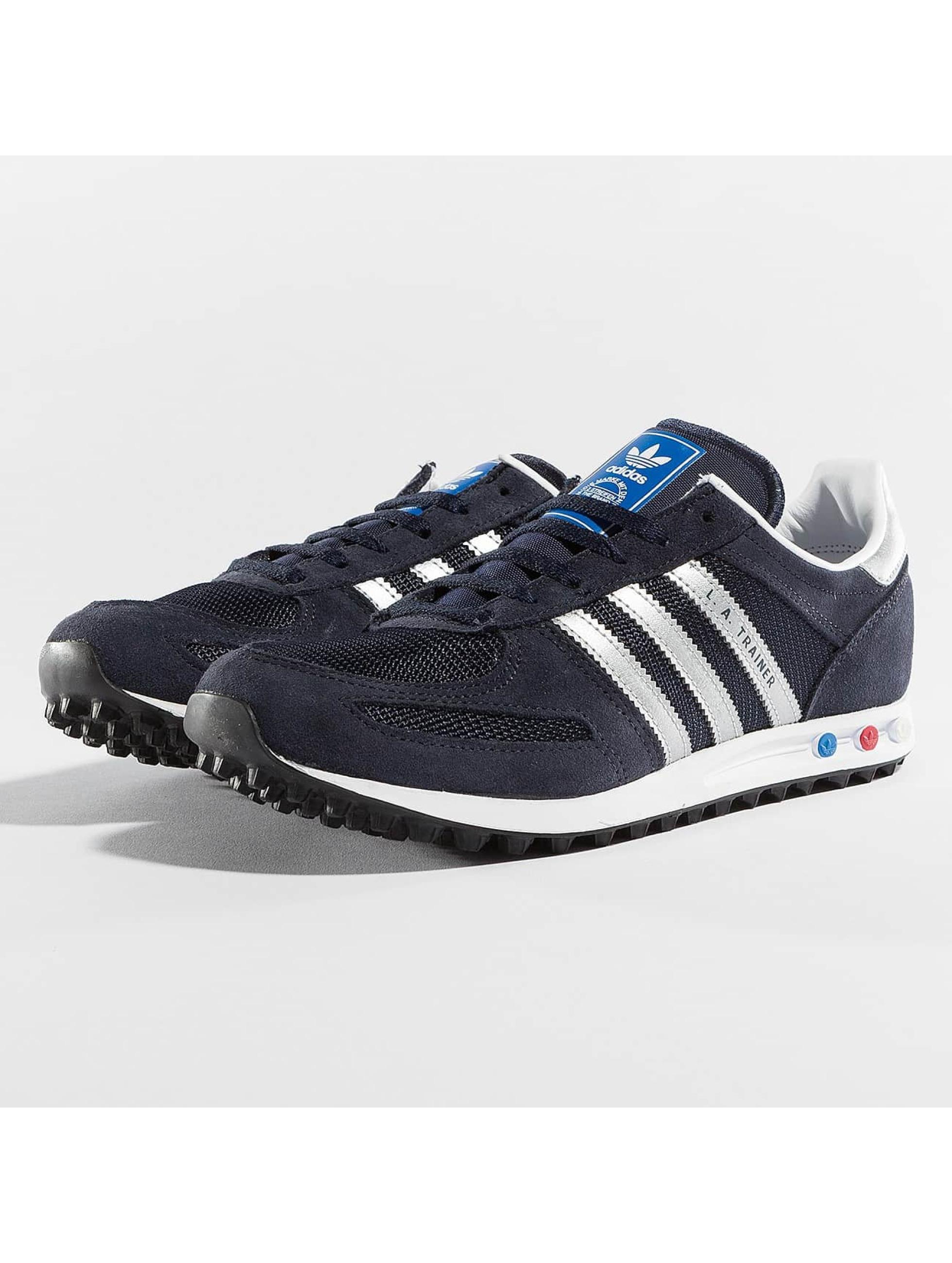 adidas originals Snejkry LA Trainer J modrý