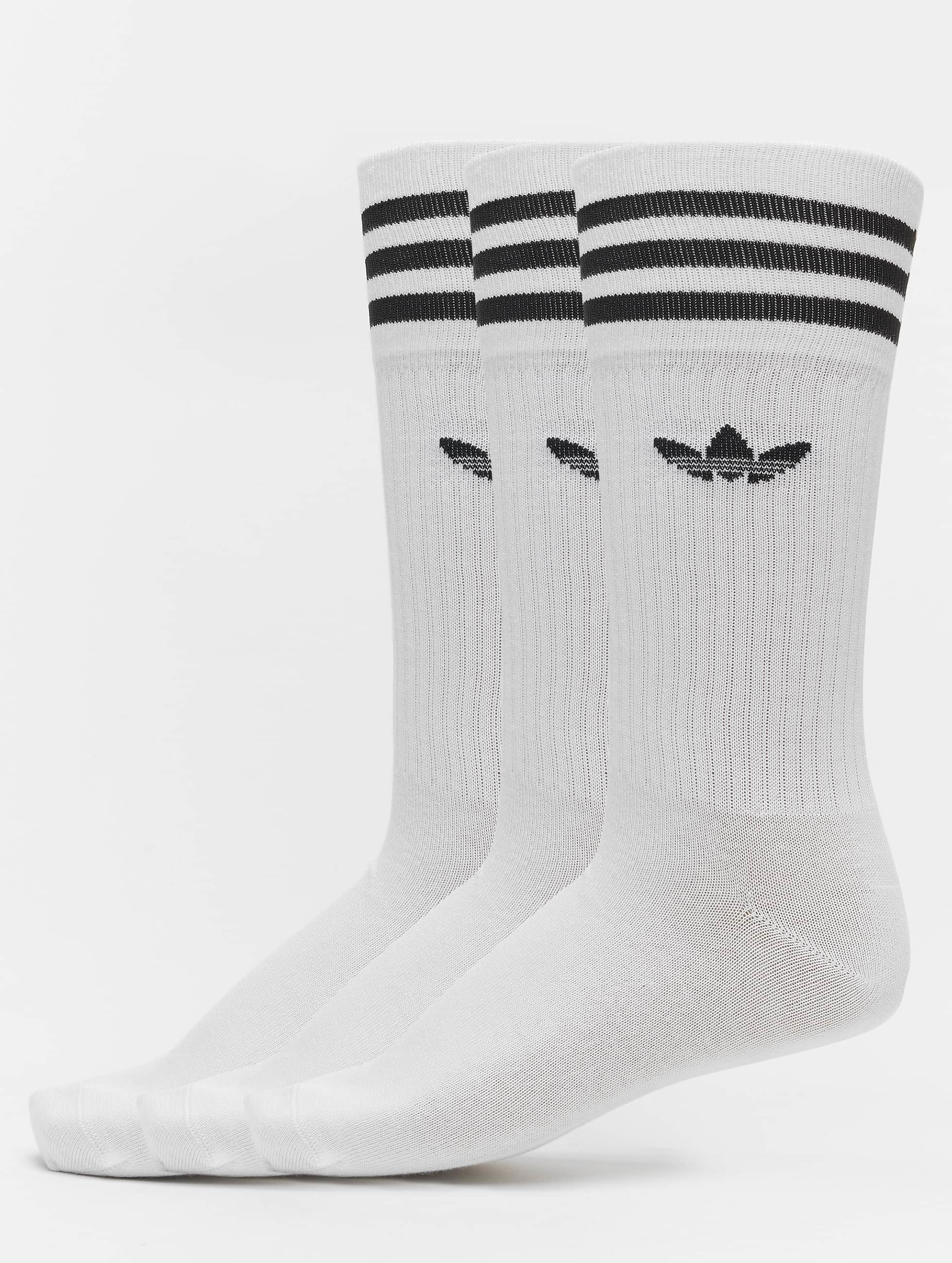 adidas originals Solid Crew Socks White