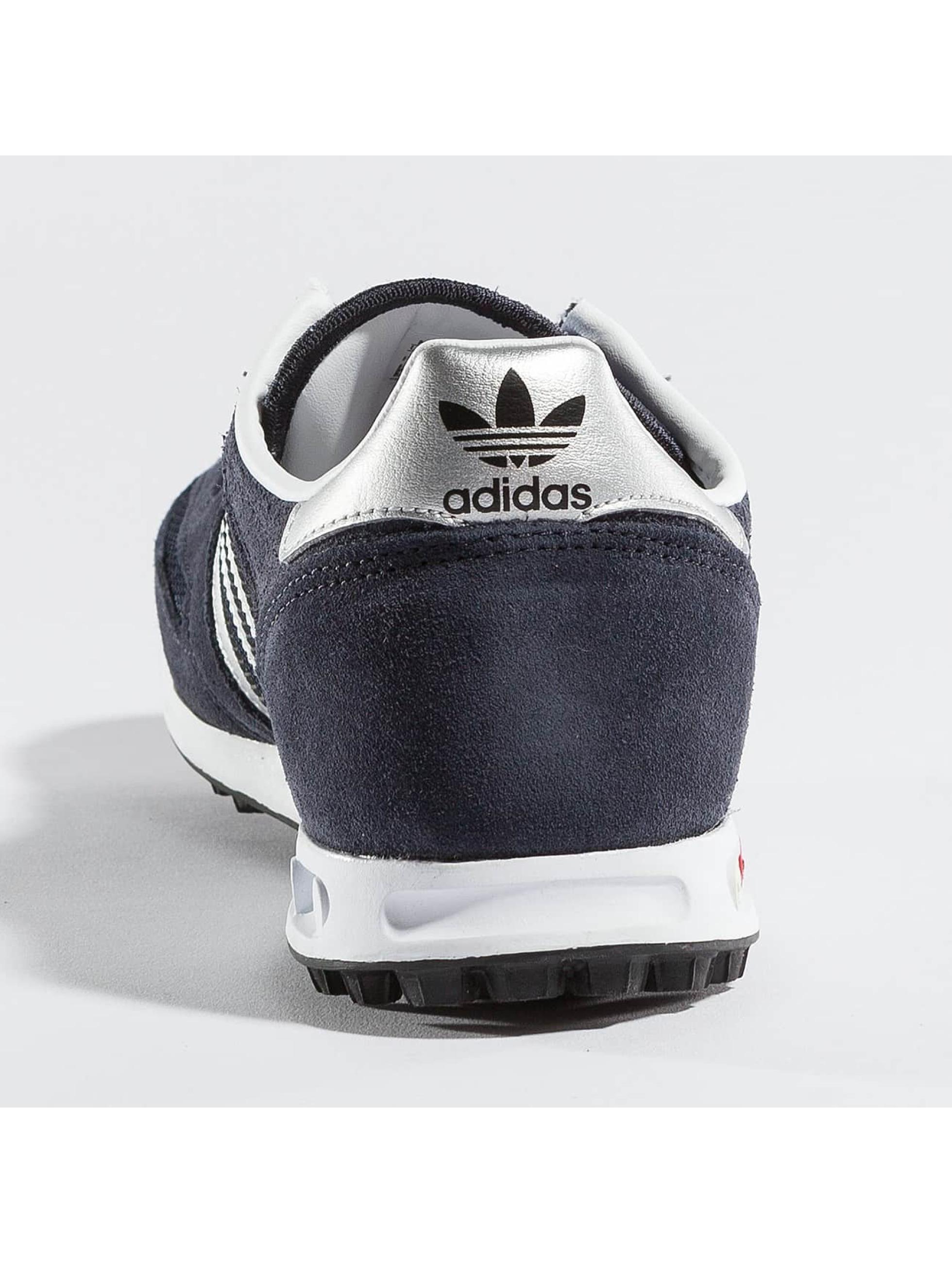 adidas originals Tøysko LA Trainer J blå