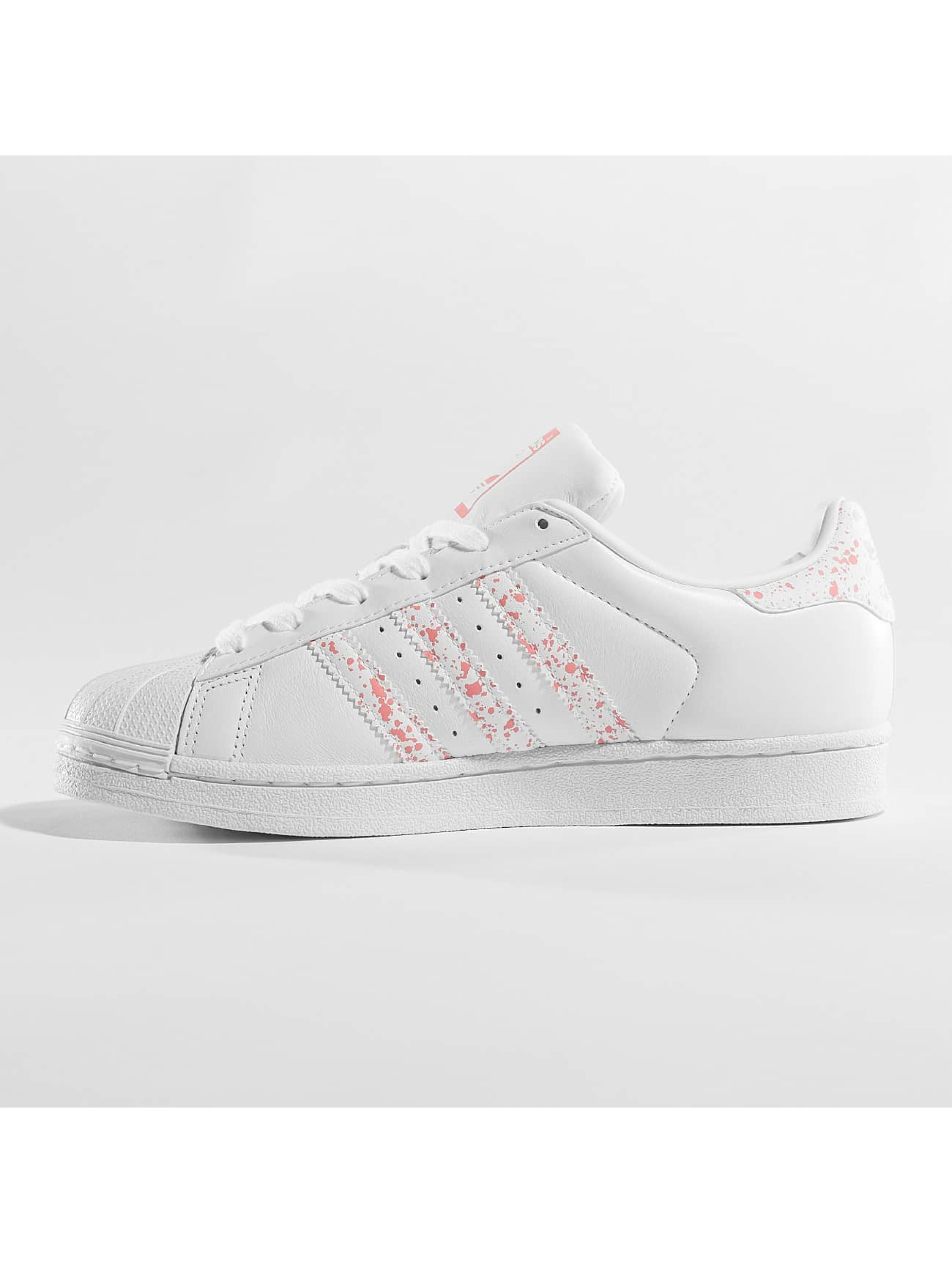 adidas originals Tøysko Superstar W hvit
