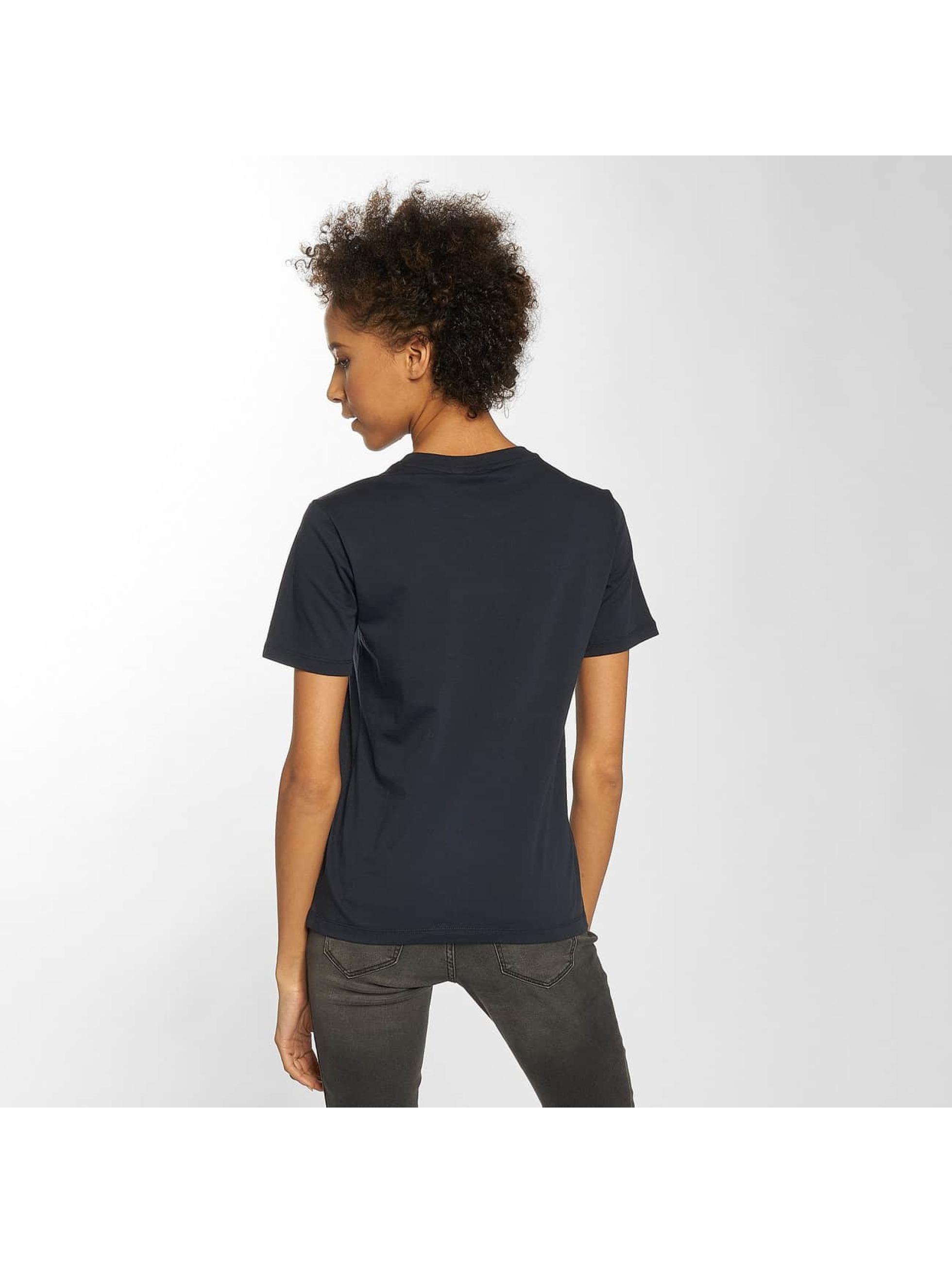 adidas originals Damen T-Shirt Trefoil in blau 435612 791f43231a