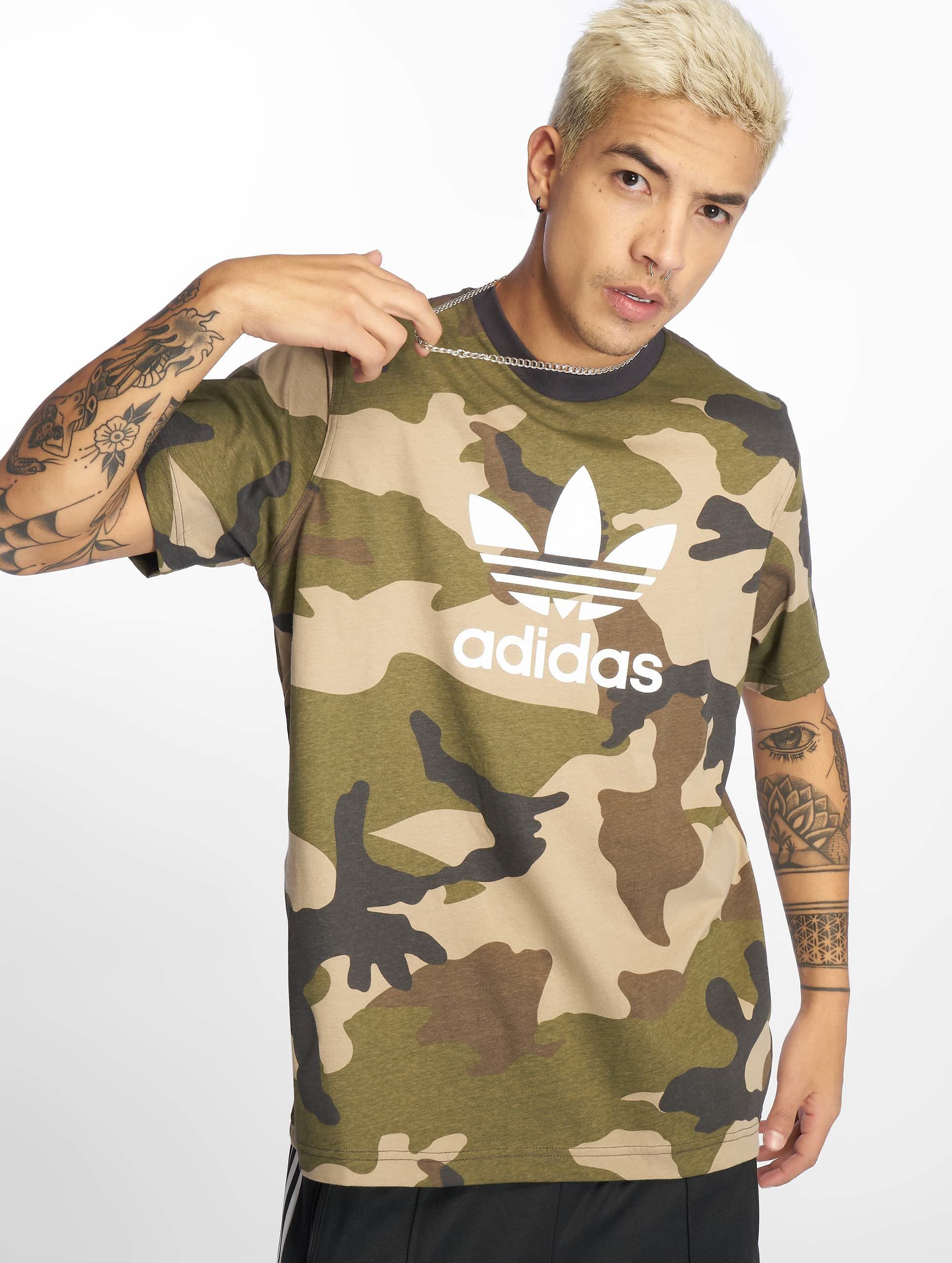 90ccfd9c468 adidas originals bovenstuk / t-shirt Camo in camouflage 598729
