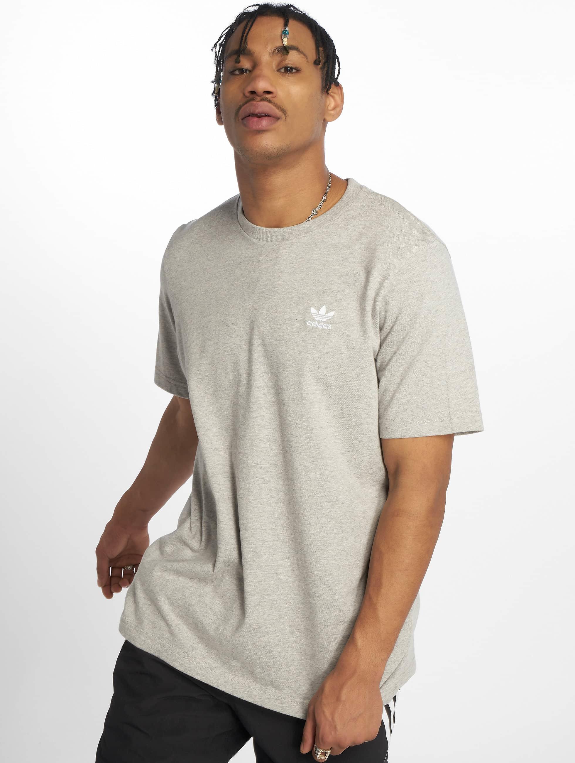 adidas Originals Essential T Shirt Medium Grey Heather