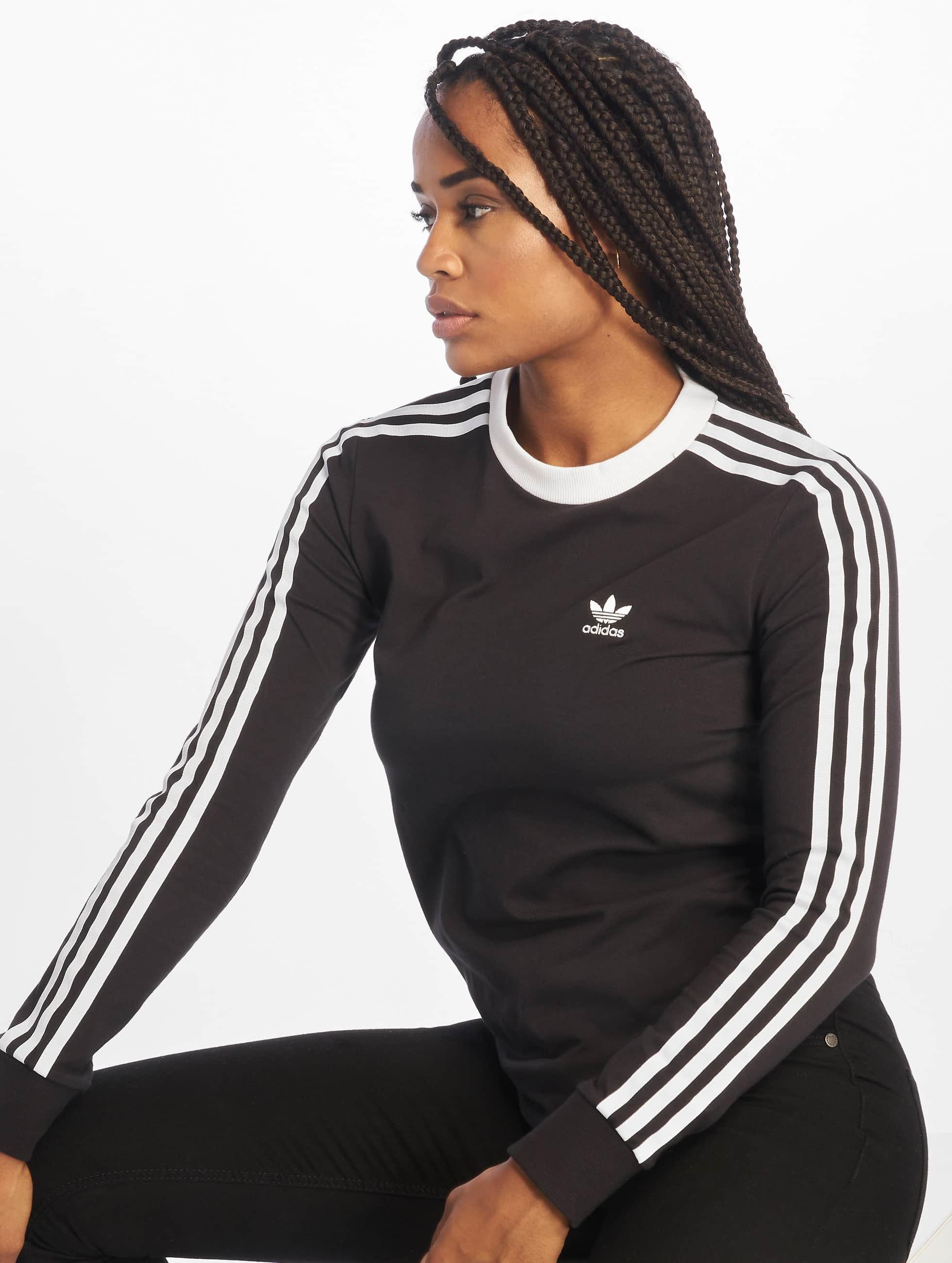 3 Longsleeve Adidas Black Originals Stripes MpqVSUzG