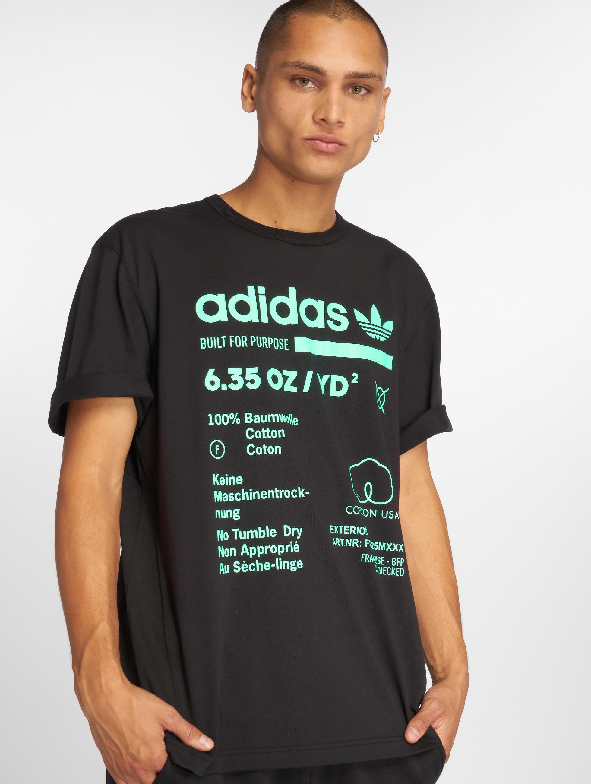 ADIDAS Originals Kaval Grp Navy Blue Round Neck T Shirt