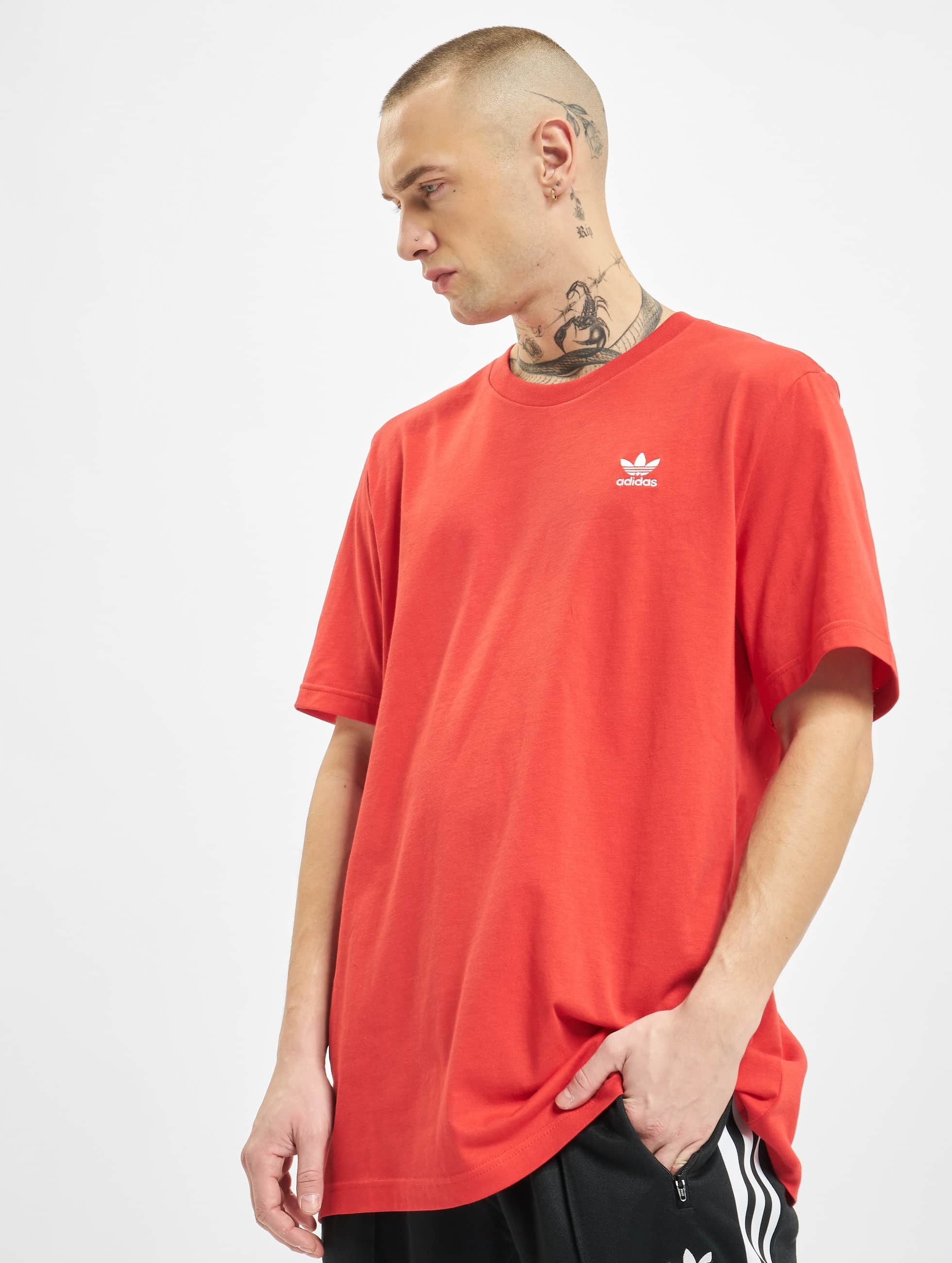 Adidas Essential T Shirt Lush Red