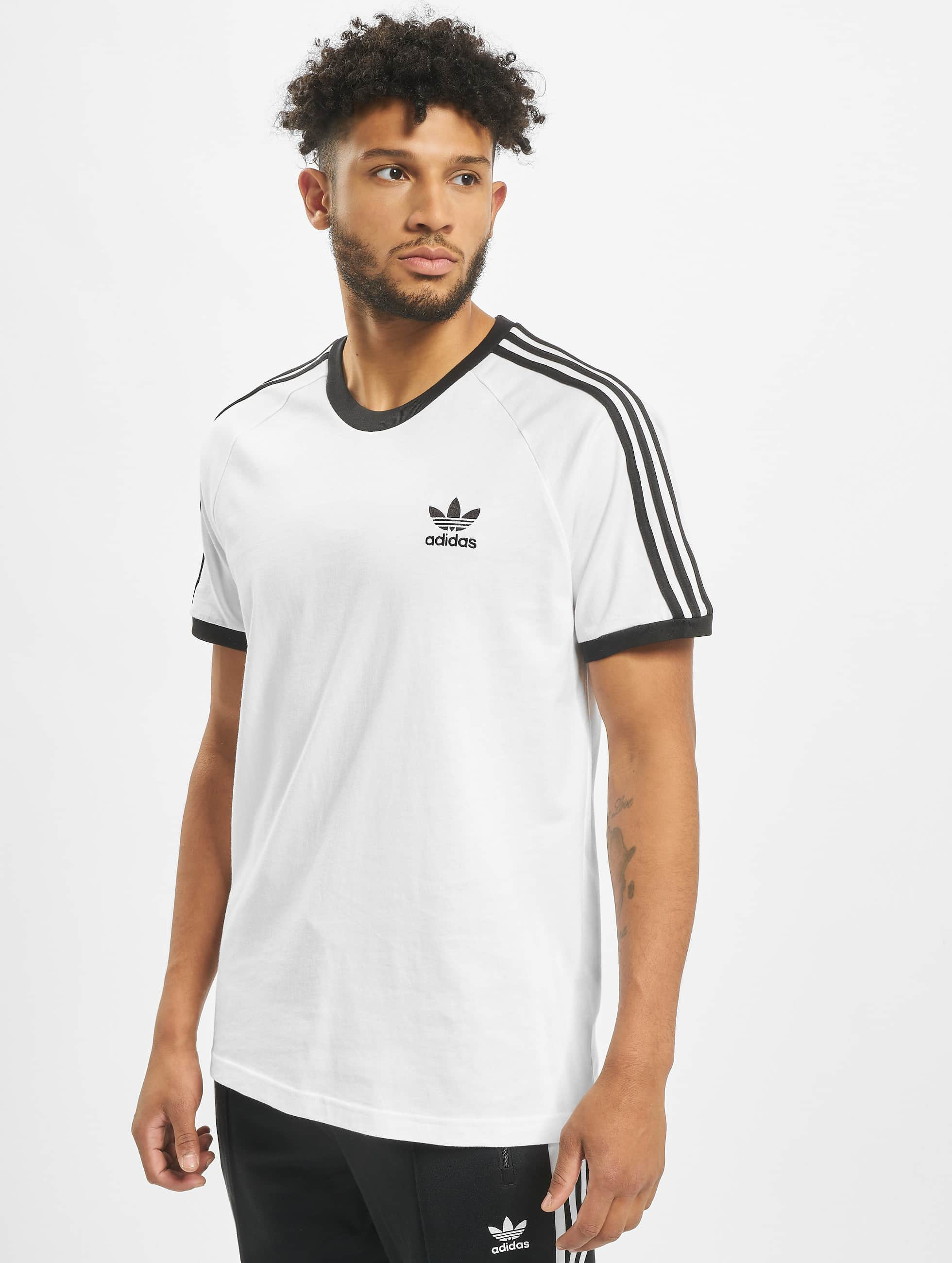 Adidas 3 stripes Tee Adicolor White