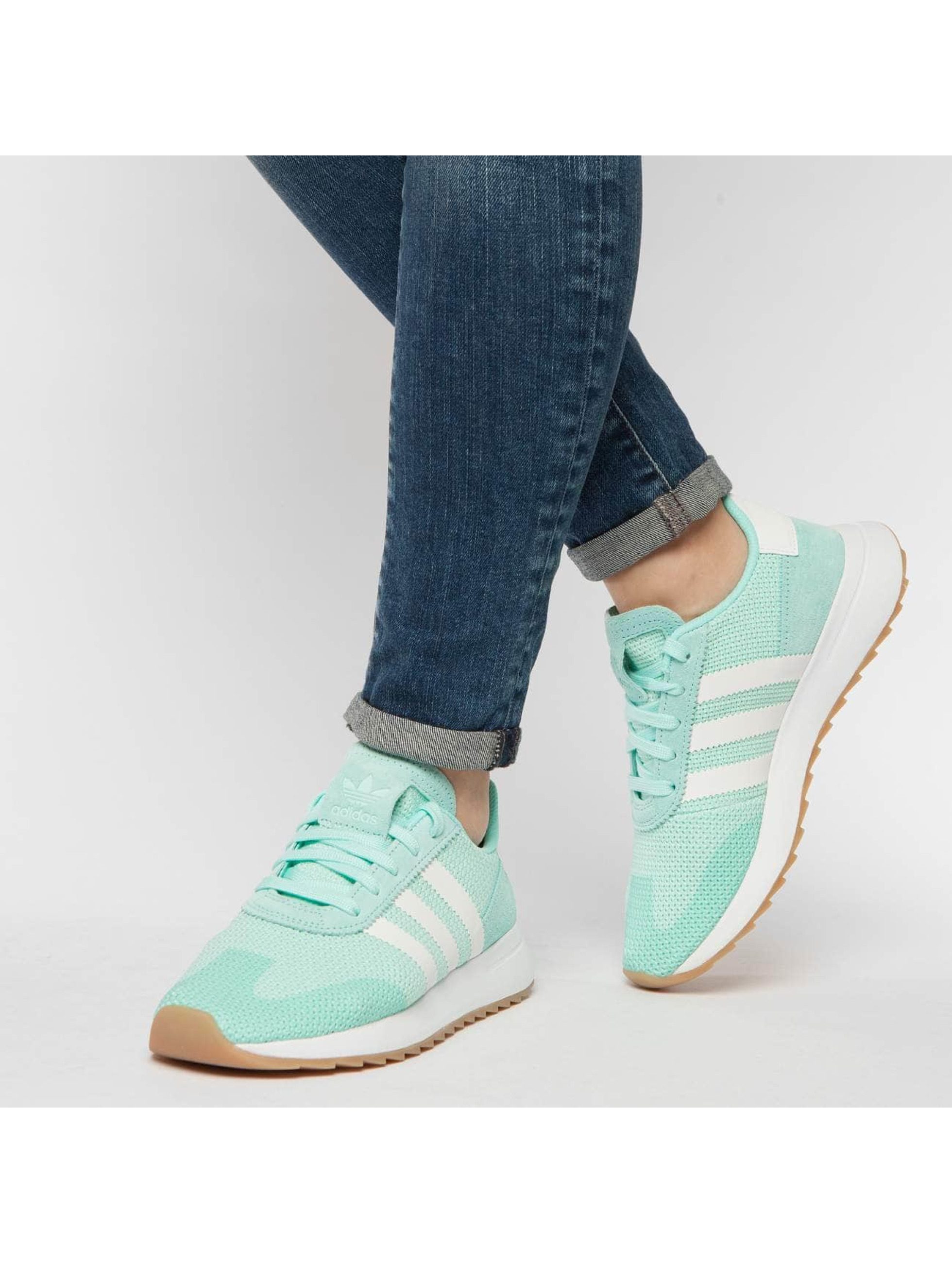 adidas originals Tennarit Flashback Runner turkoosi