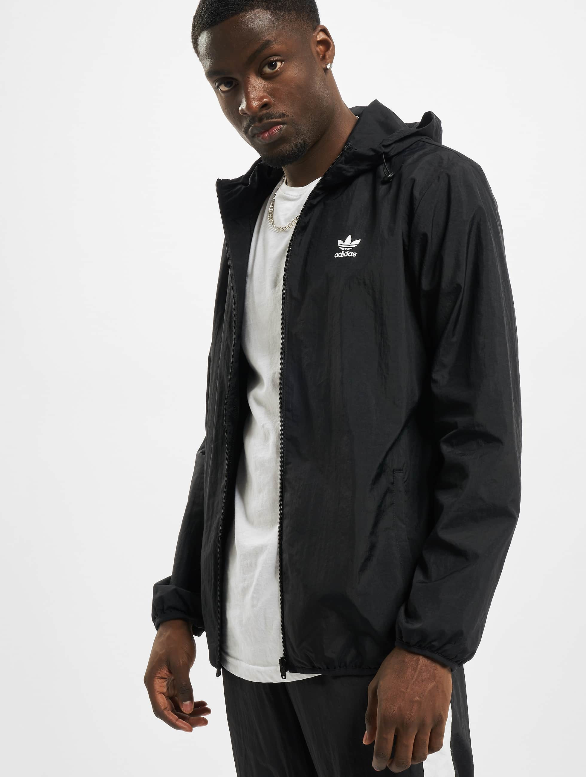 Adidas Originals Essential Windbreaker Black