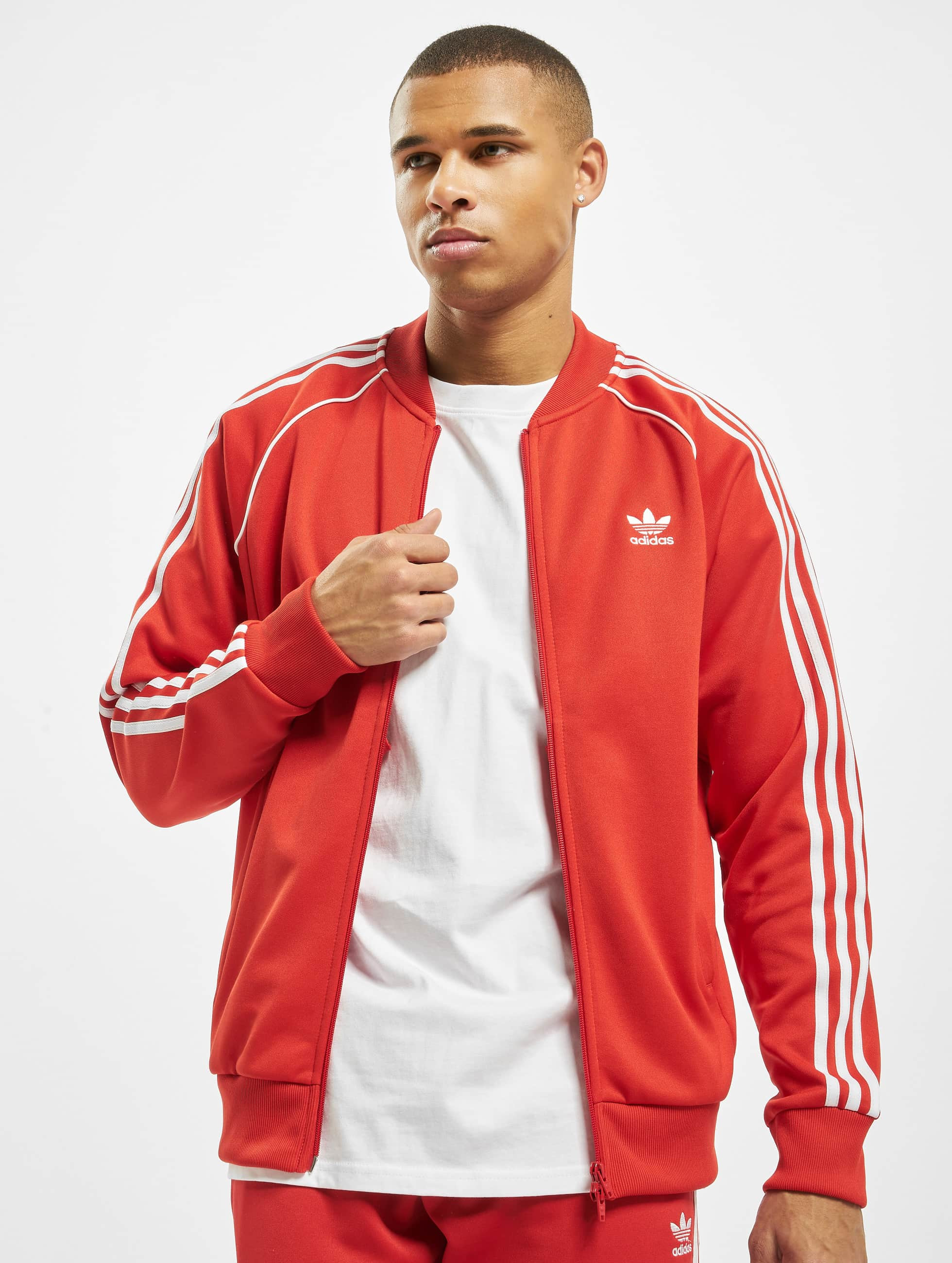 Adidas SST Track Jacket Lush Red