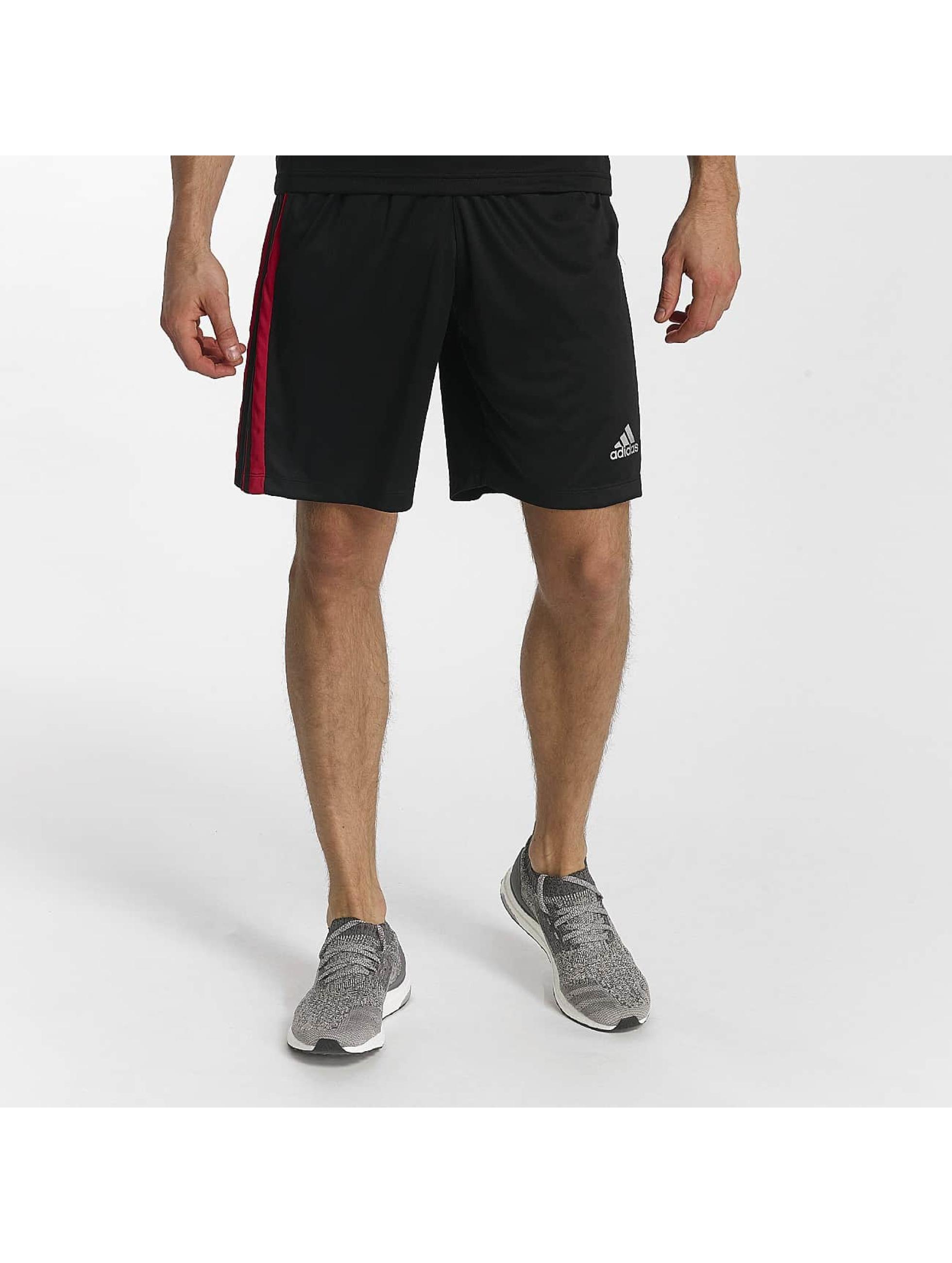 adidas Performance Шорты D2M 3-Stripes черный