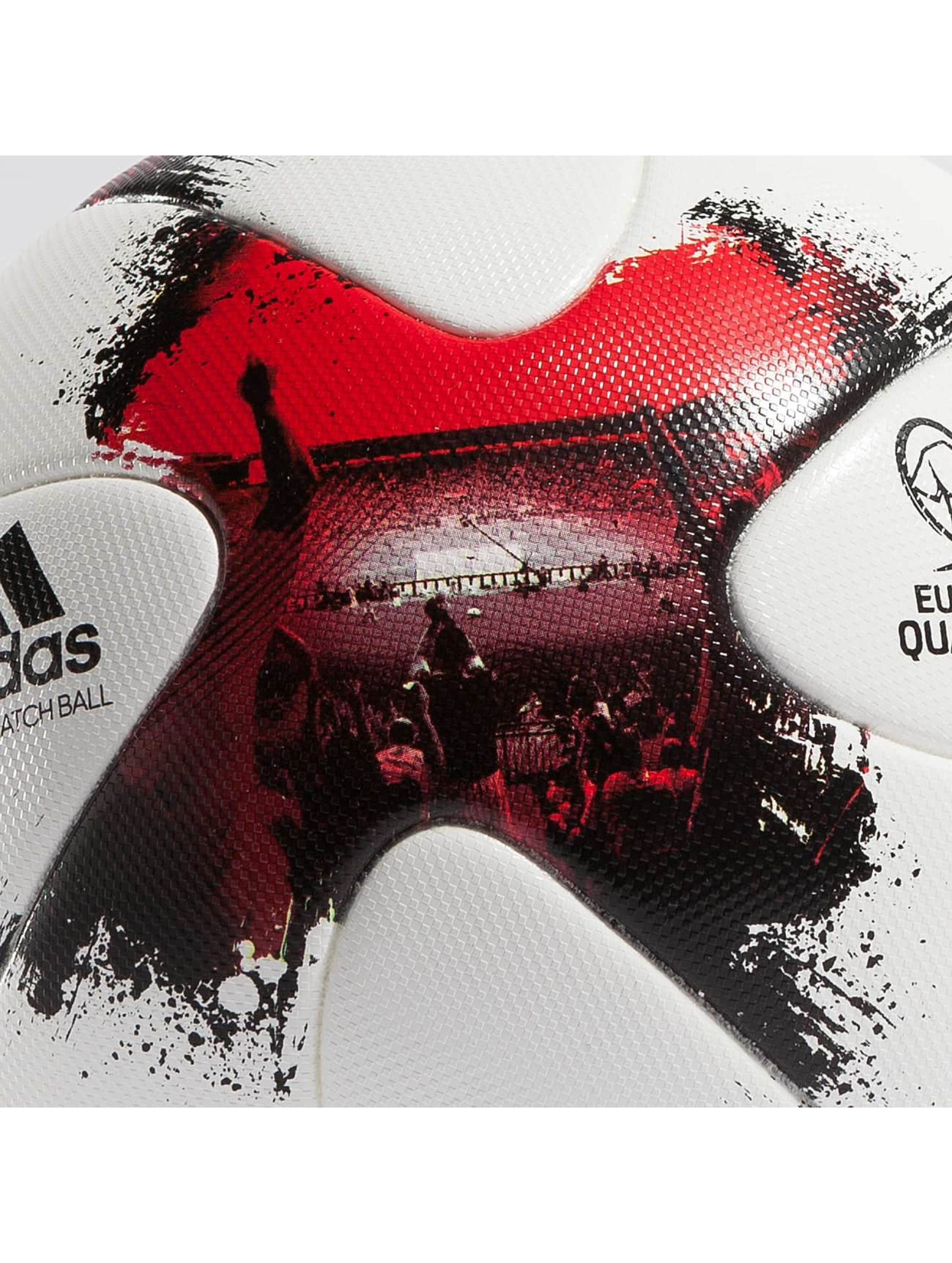 adidas Performance Balle European Qualifiers Offical Match Ball blanc