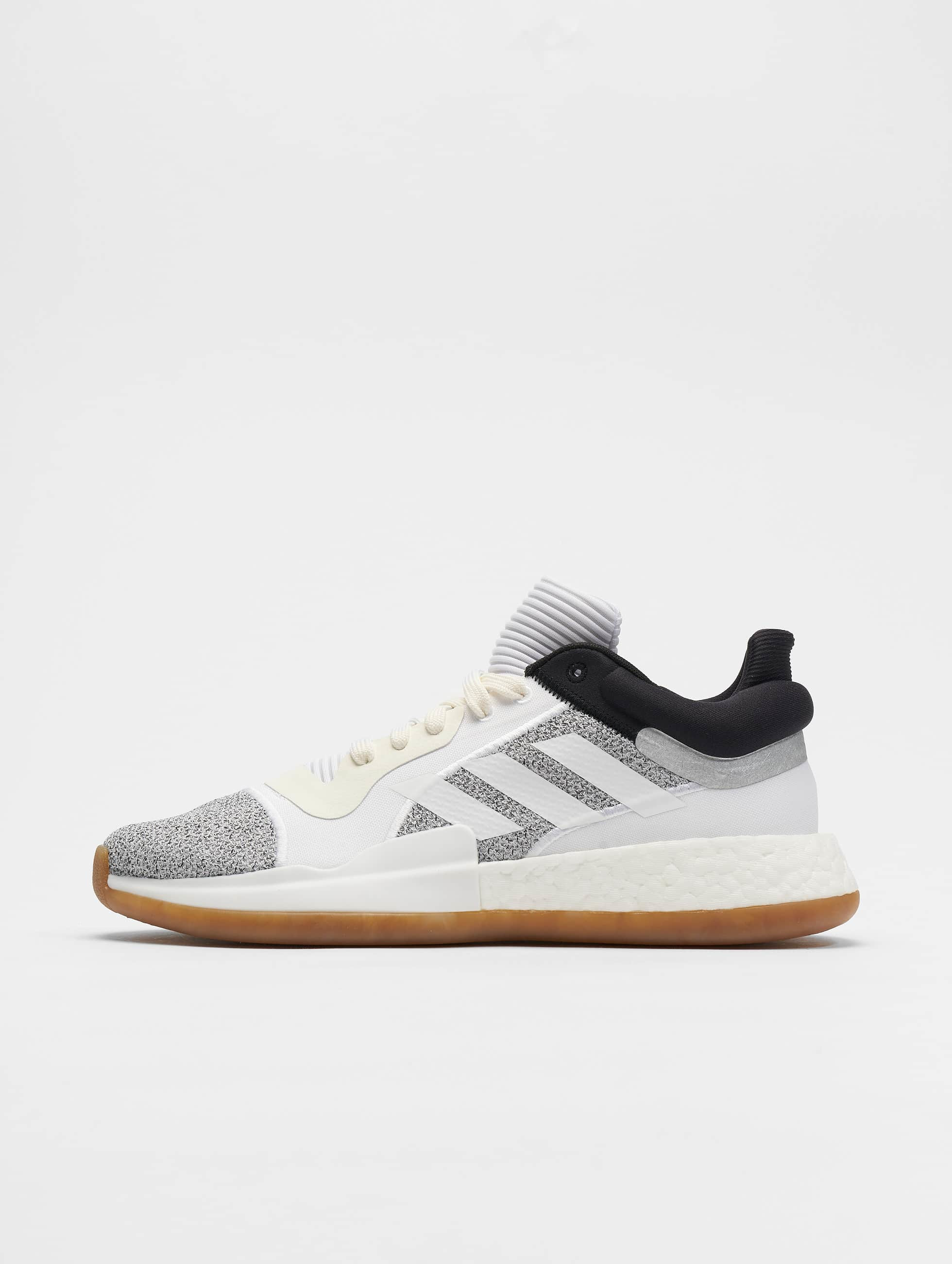 adidas Marquee Boost Low Basketball Shoes O WhiteFtw WhiteCore Black