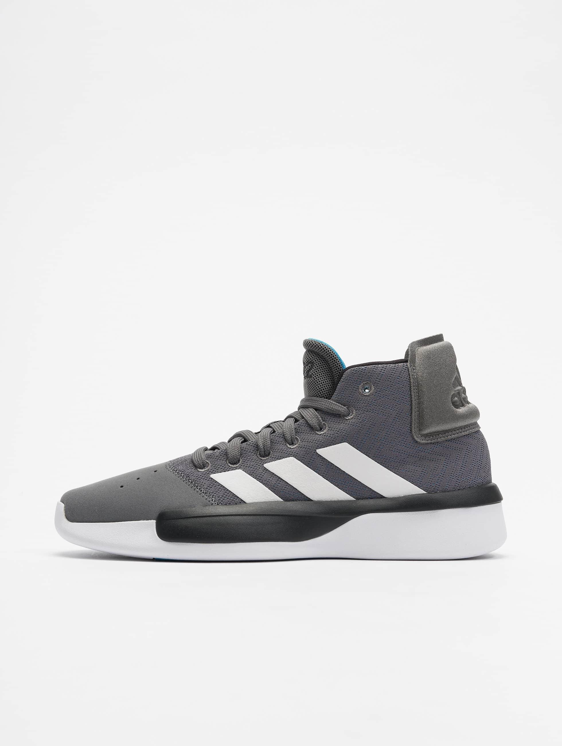 adidas Pro Adversary Basketball Shoes Grey FourFtw WhiteSHOCYA