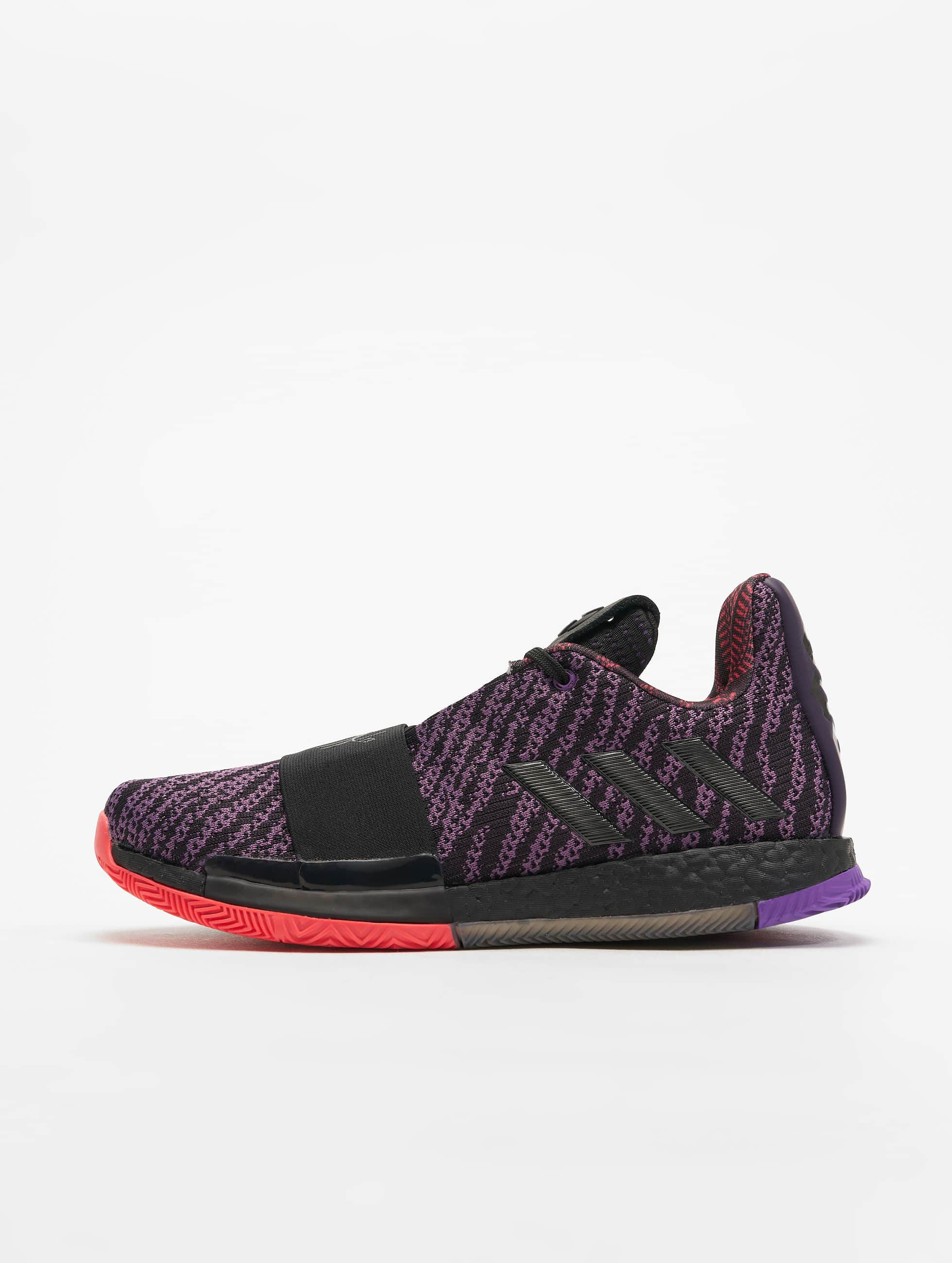 adidas Harden Vol. 3 Basketball Shoes Leg PurpleCore BlackAct Purple