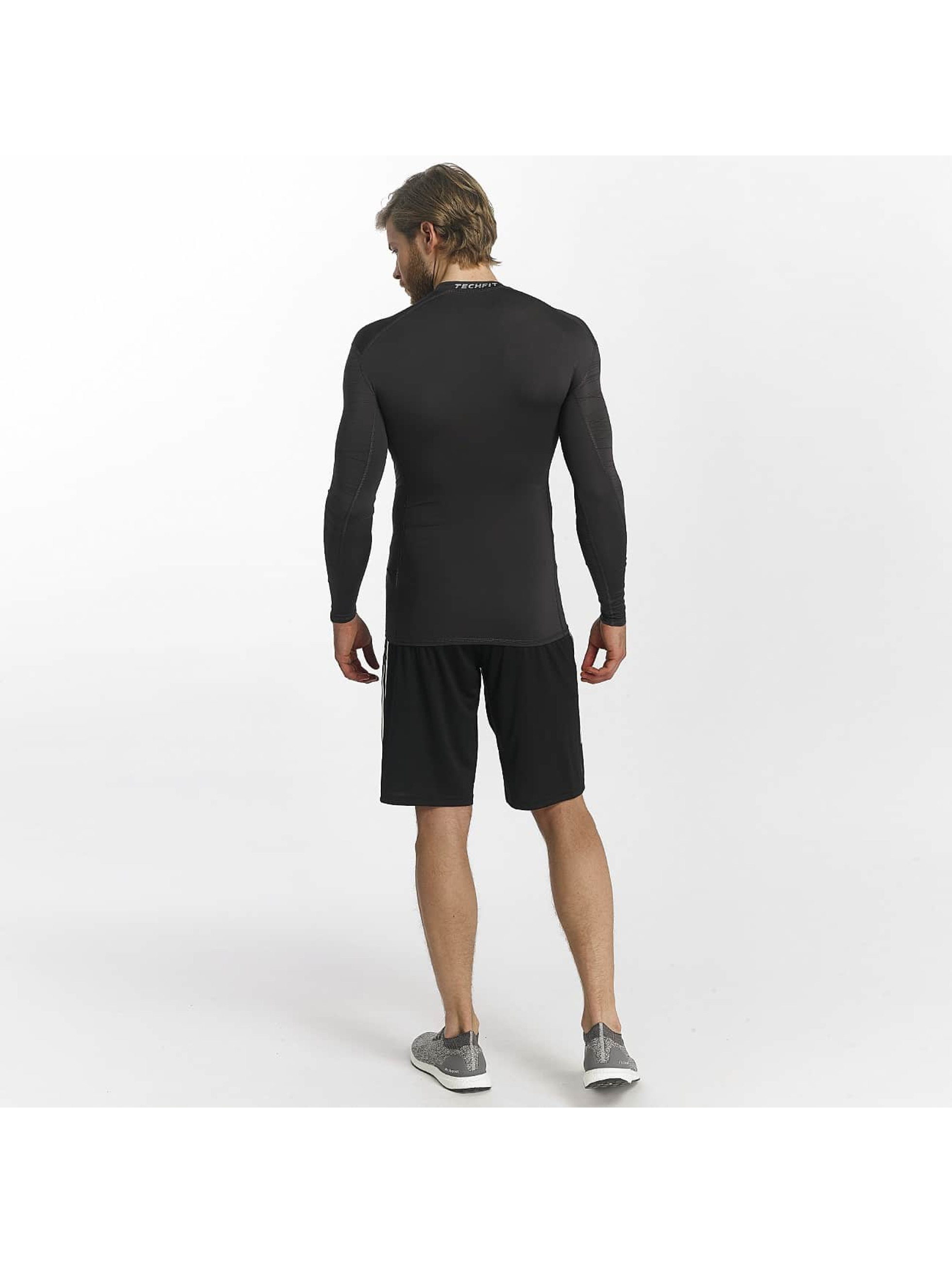adidas Performance Långärmat Techfit Base svart