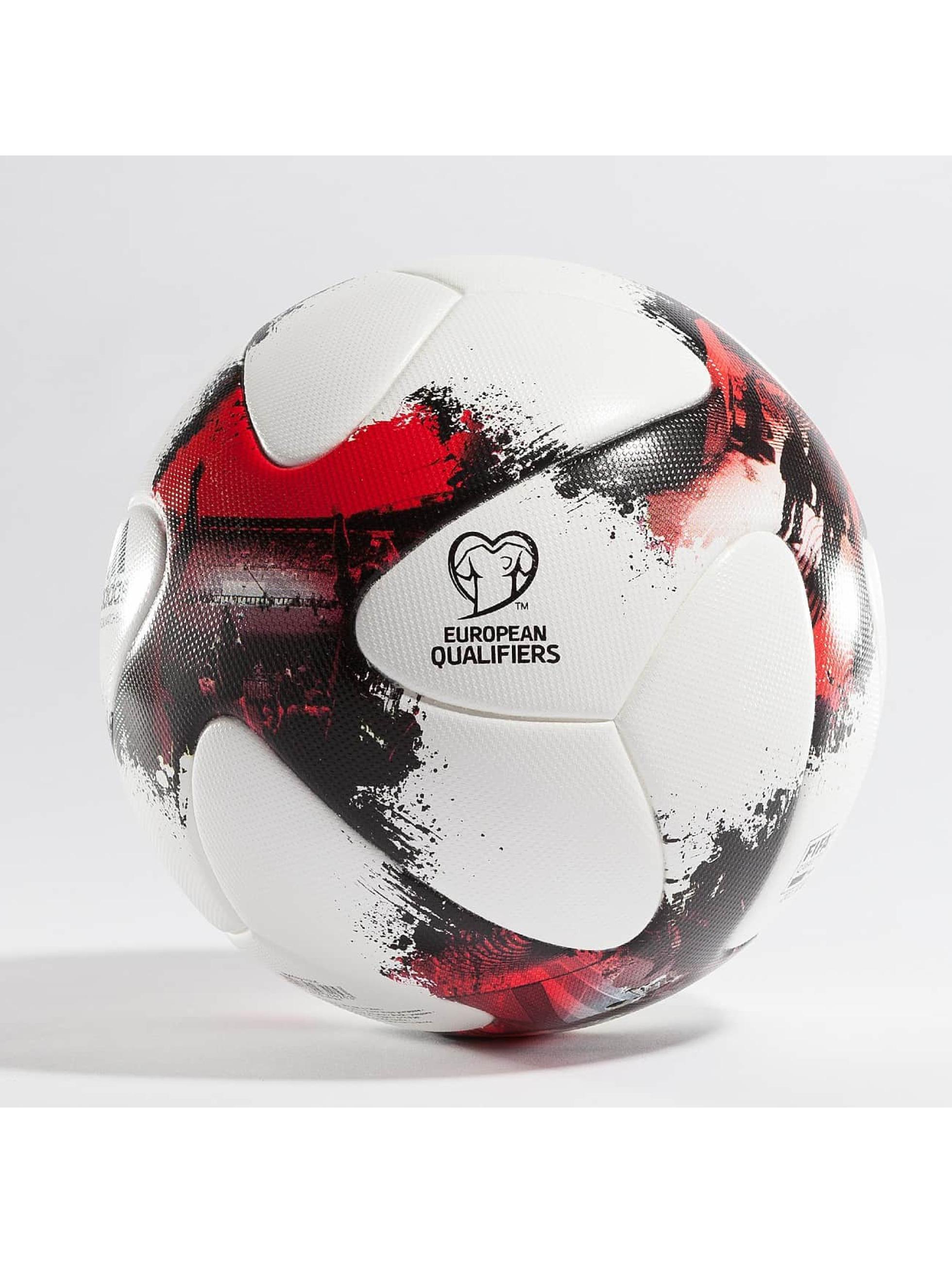 adidas Performance Pallone European Qualifiers Offical Match Ball bianco
