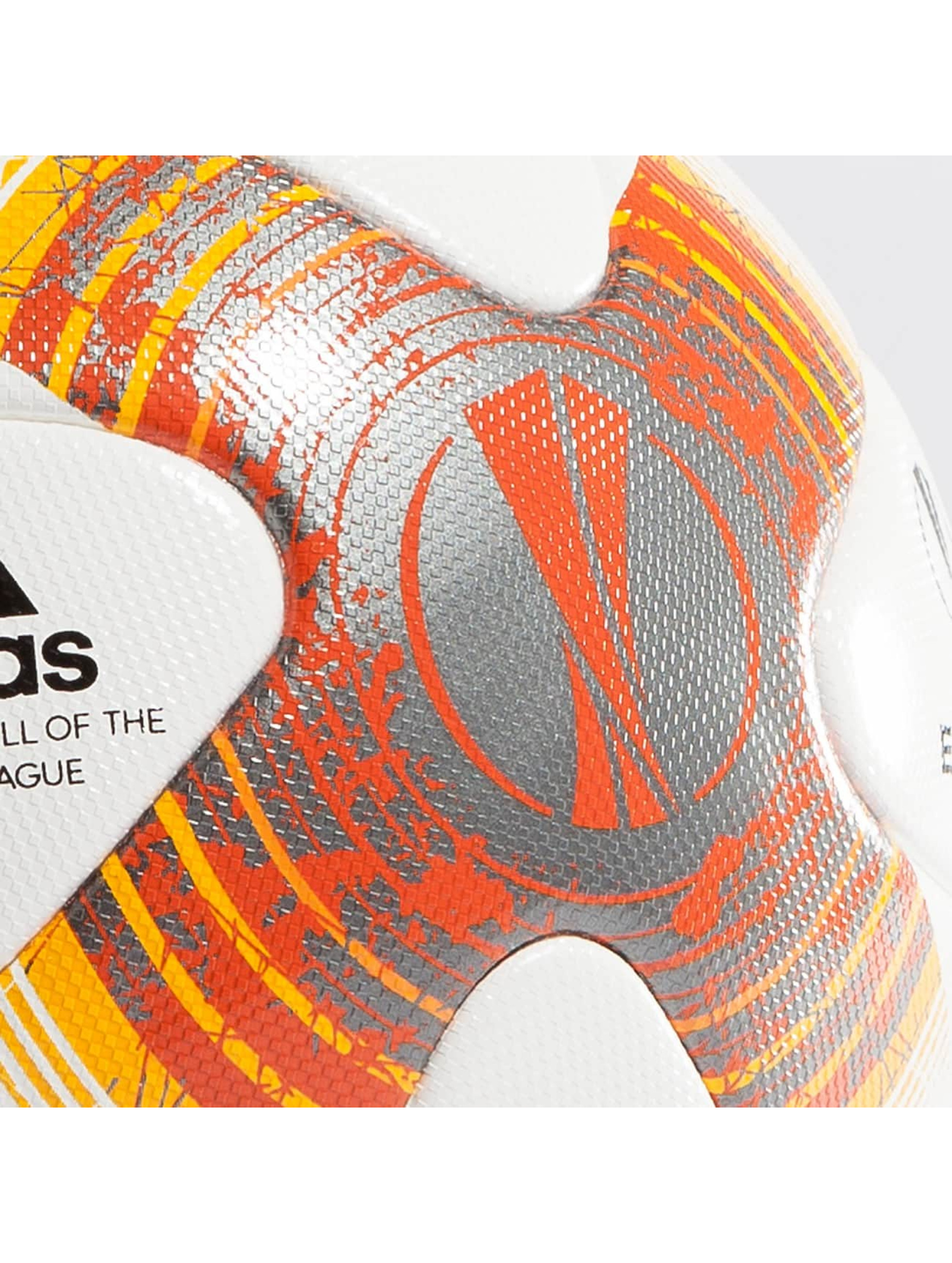 adidas Performance Pallone Uefa Europa League Offical Match Ball bianco