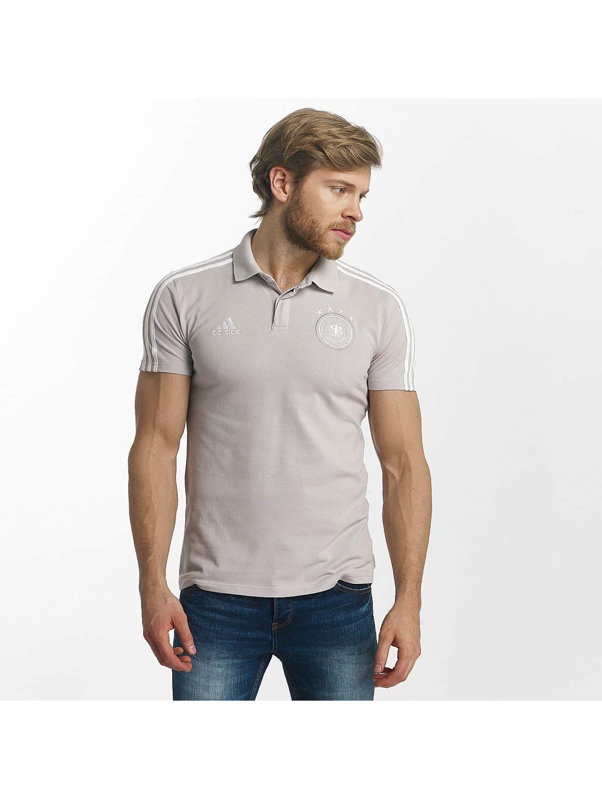 adidas Performance Poloshirt DFB Cotton grau