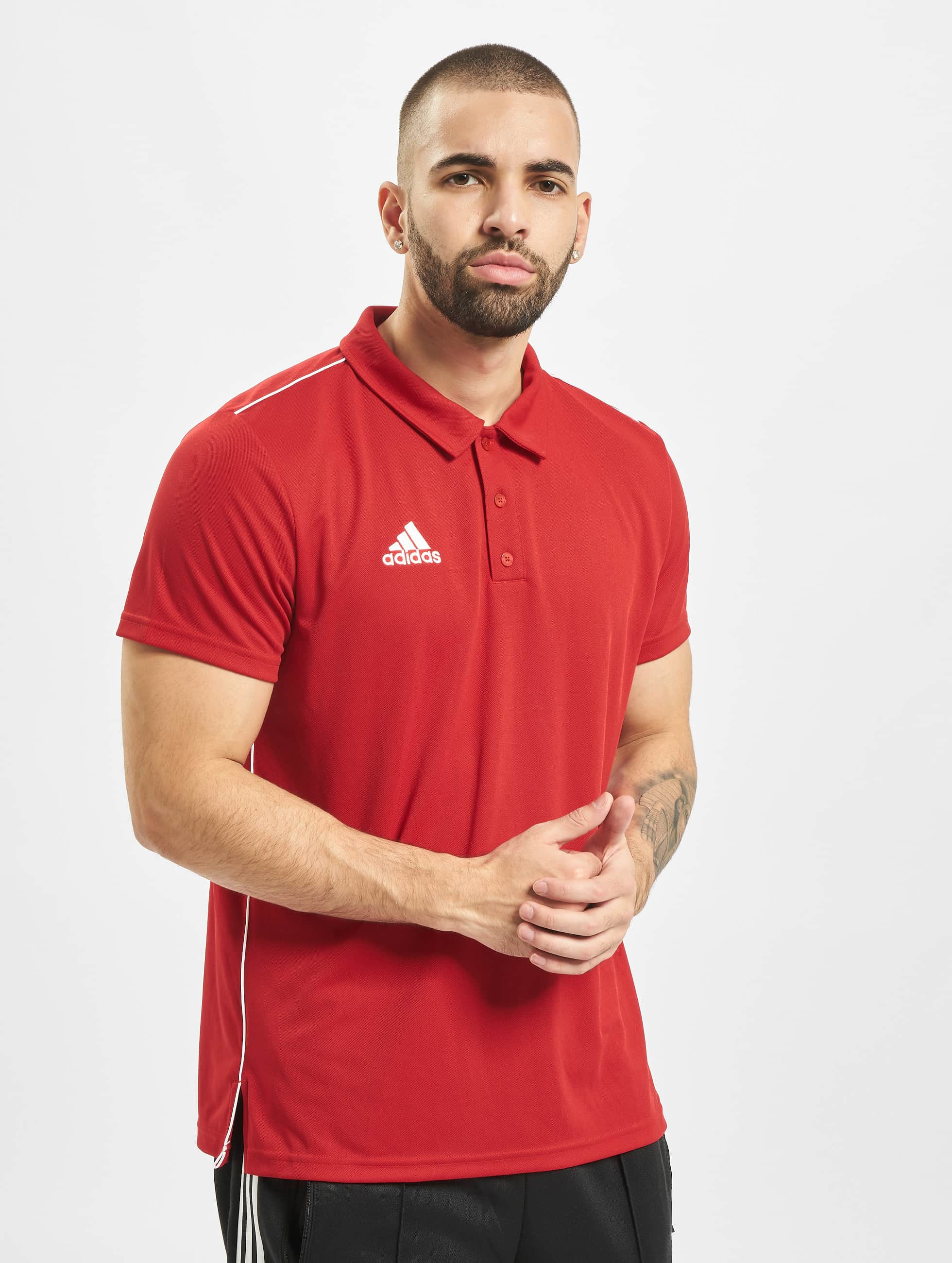 adidas Core 18 ClimaLite Poloshirt Red
