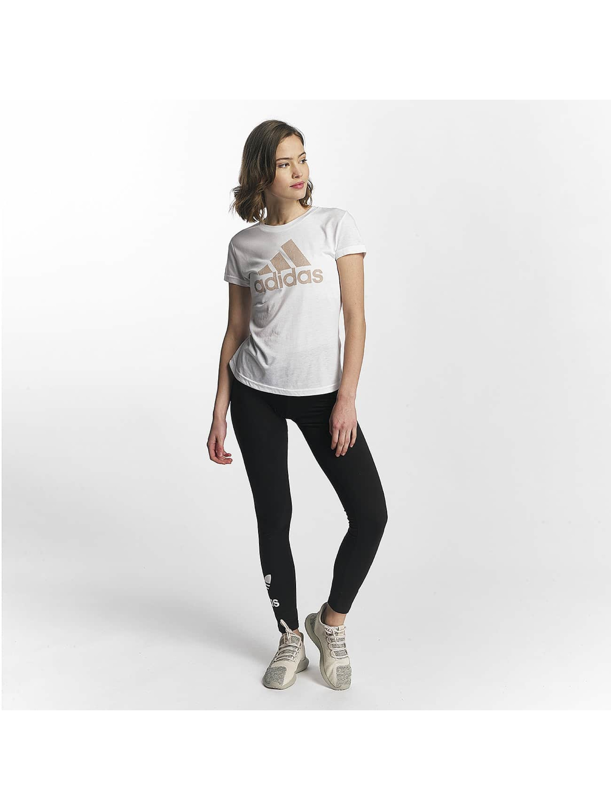 adidas Performance T-Shirt Training blanc
