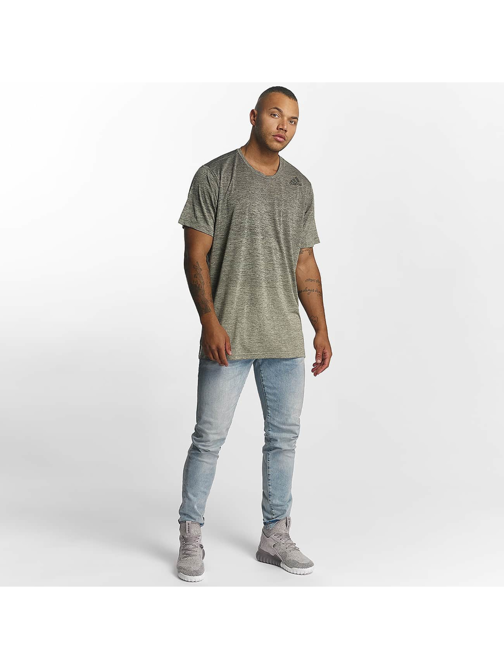 adidas Performance t-shirt Freelift Gradient grijs