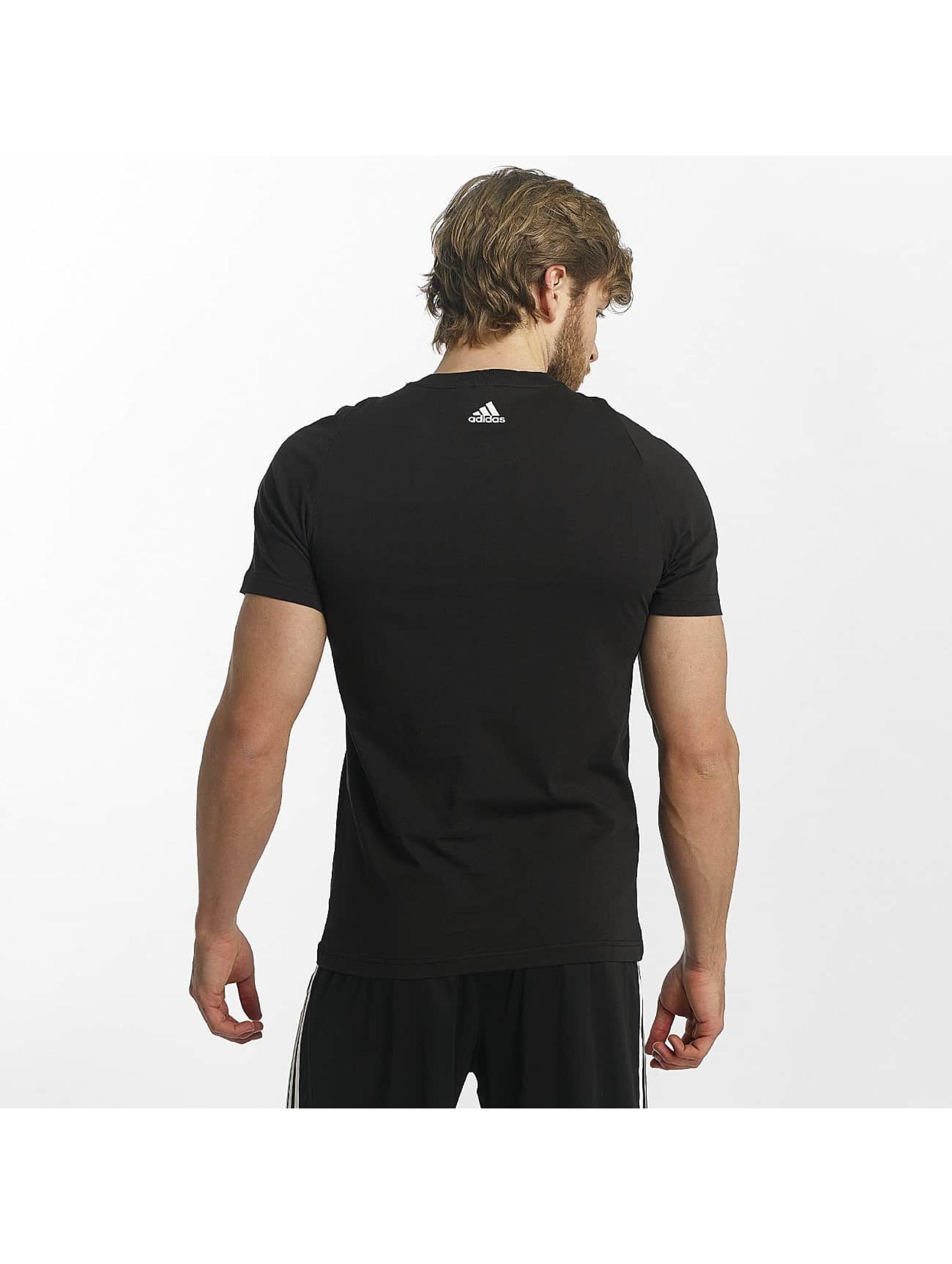 adidas Performance T-Shirt Essentials noir