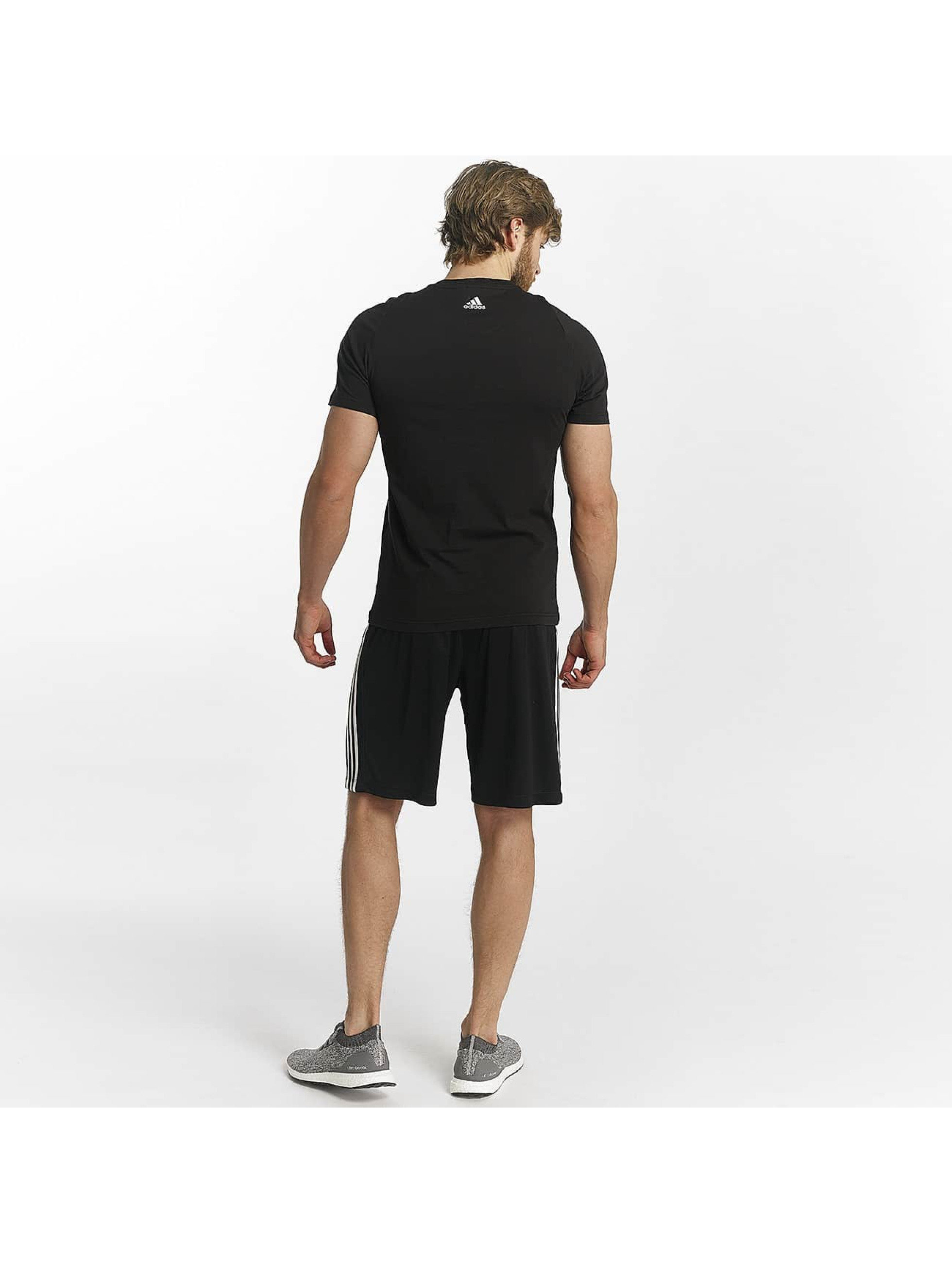 adidas Performance T-Shirt Essentials schwarz