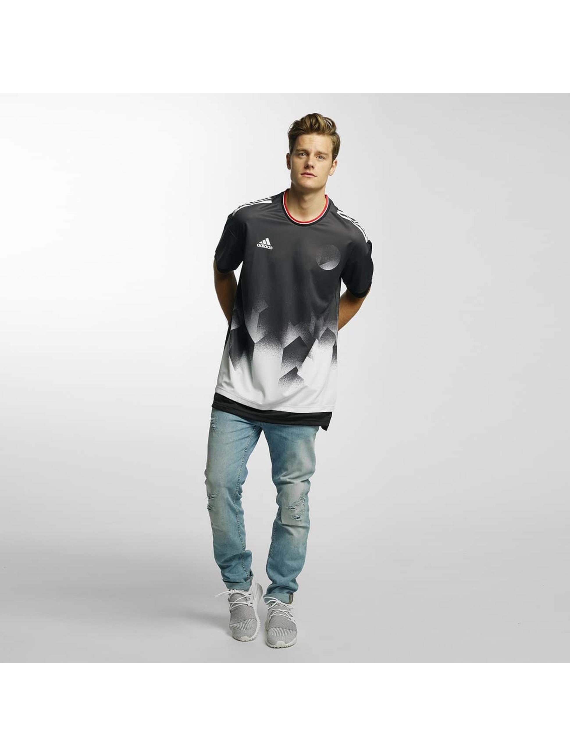 adidas Performance t-shirt Tango Future Layered zwart