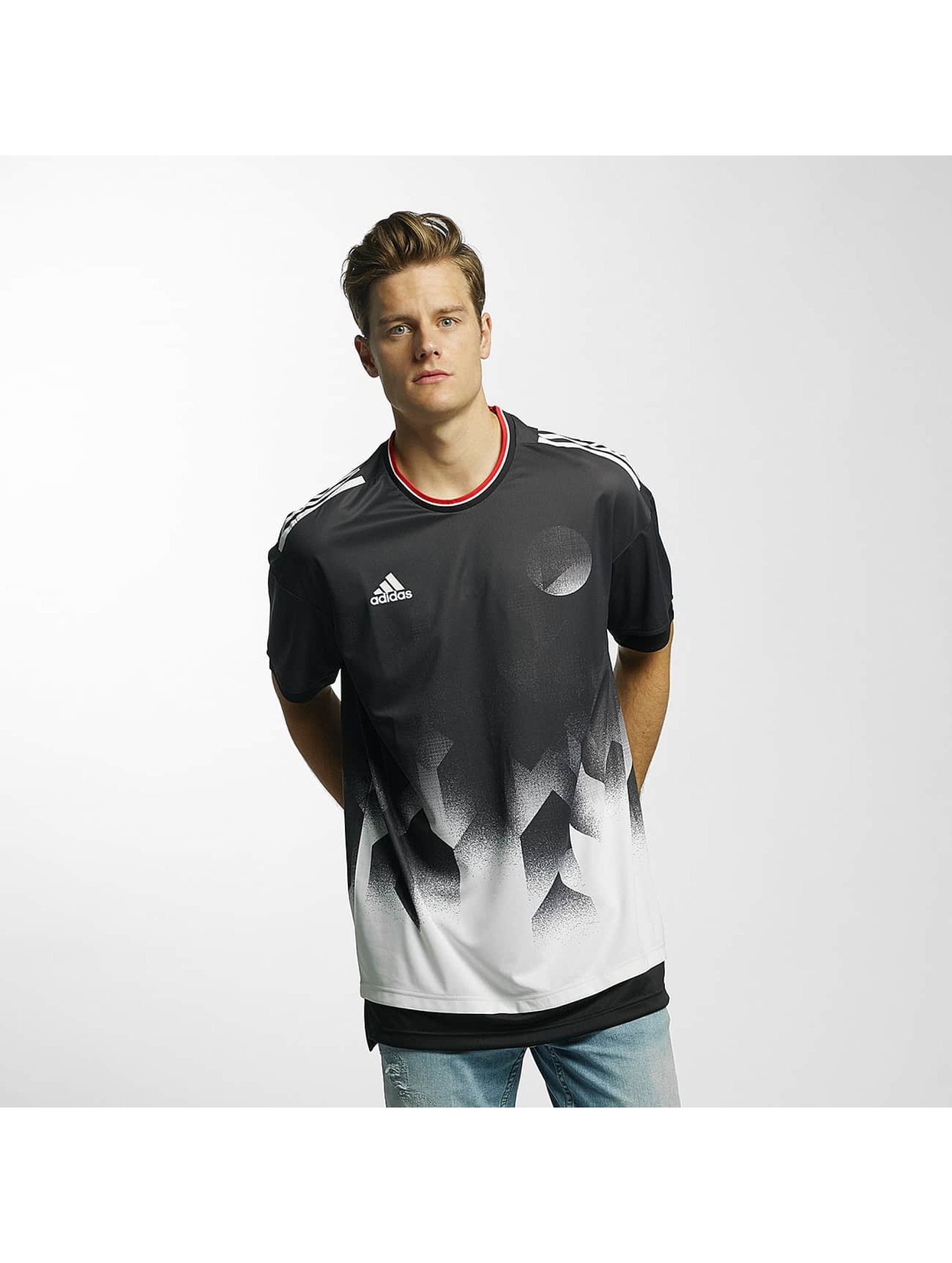 adidas Performance T-skjorter Tango Future Layered svart