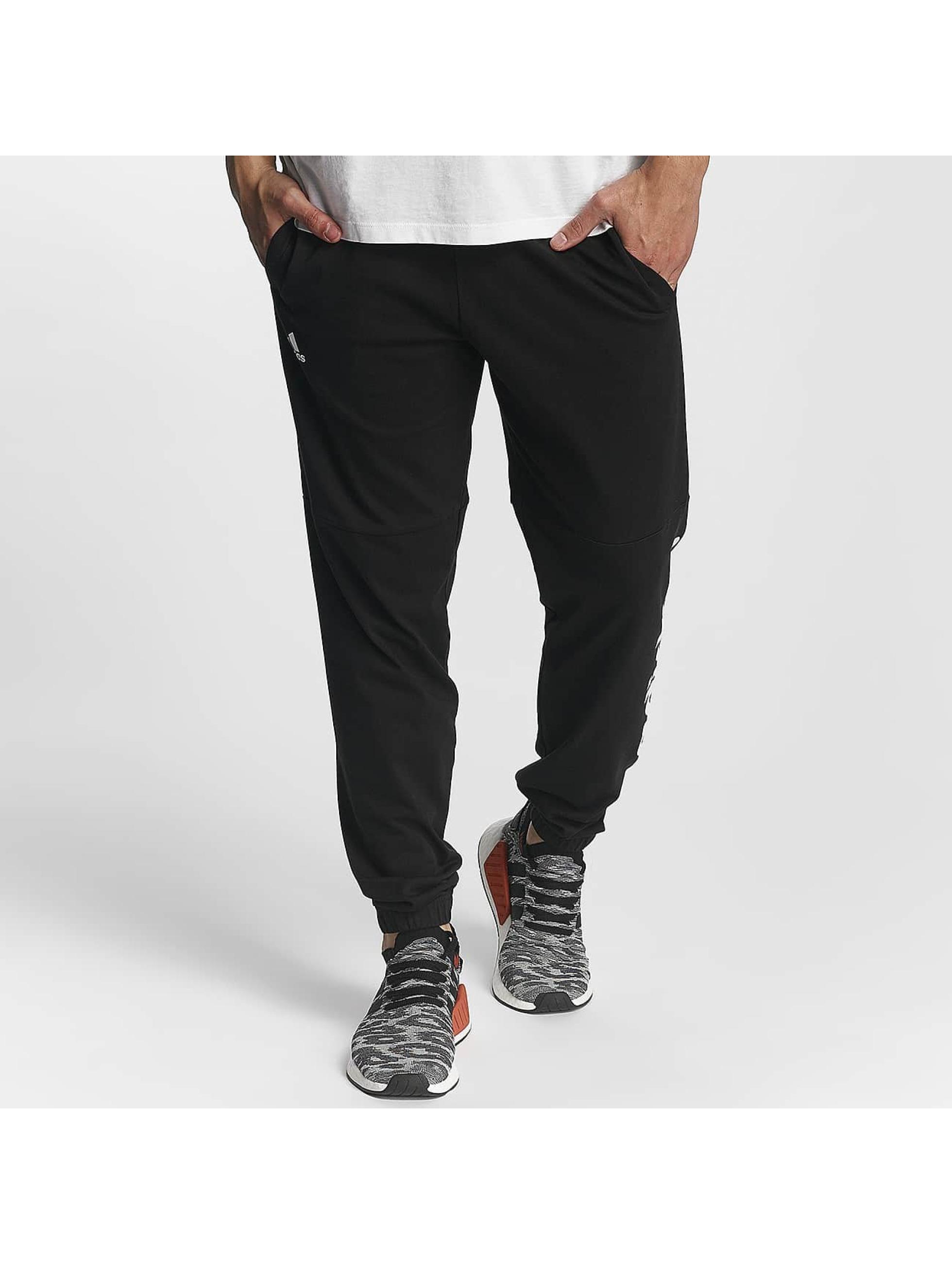 adidas Performance Verryttelyhousut Essentials Linear musta
