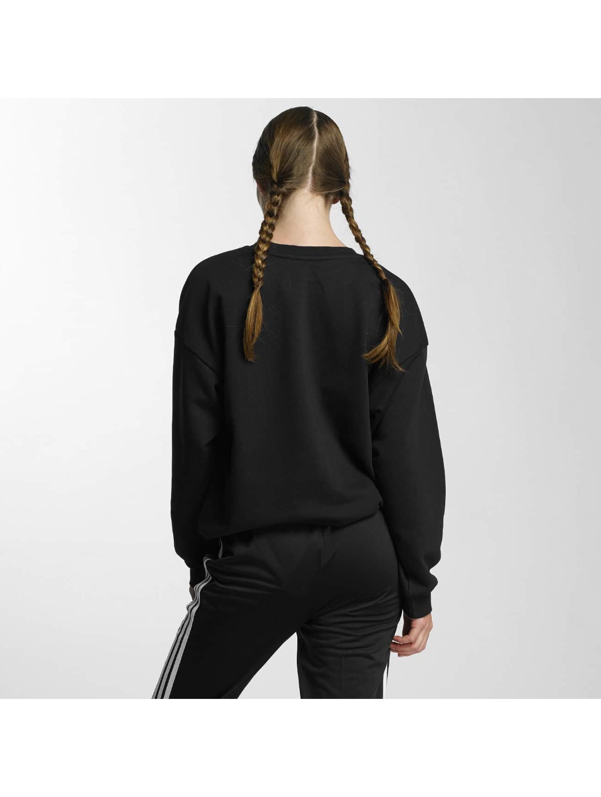 adidas Pullover Trefoil schwarz