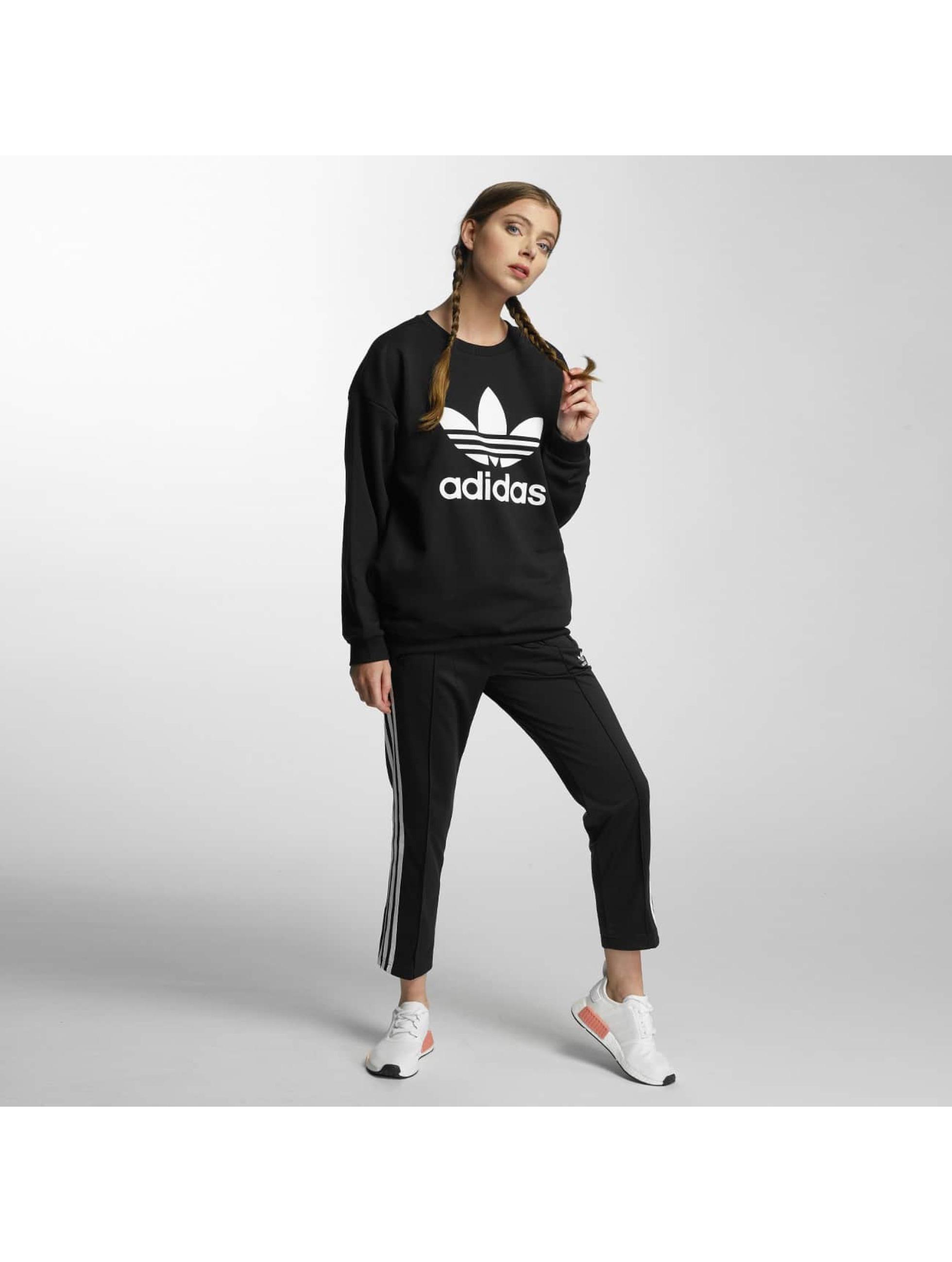 adidas Pulóvre Trefoil èierna