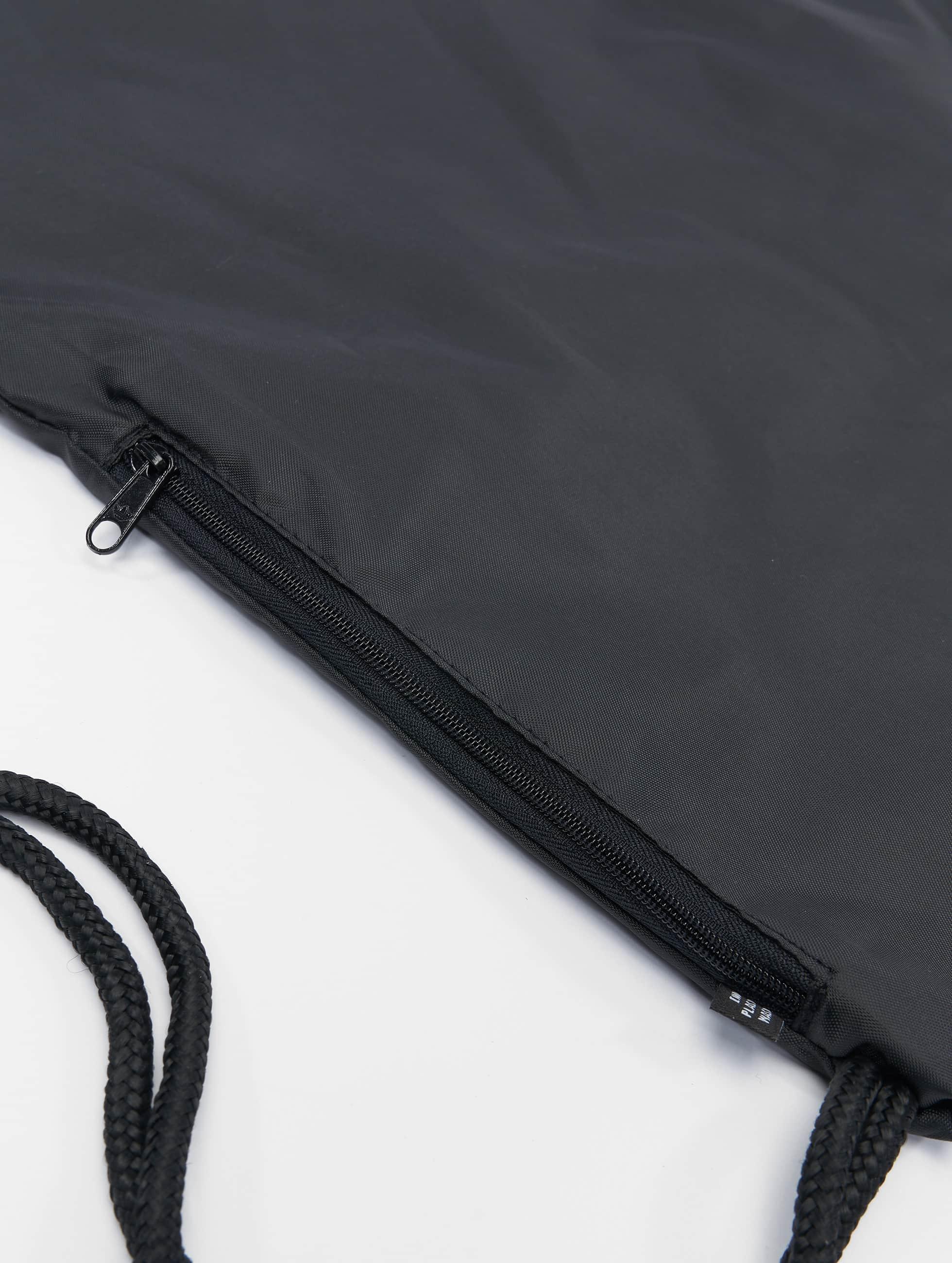 adidas Sac à cordons Trefoil noir