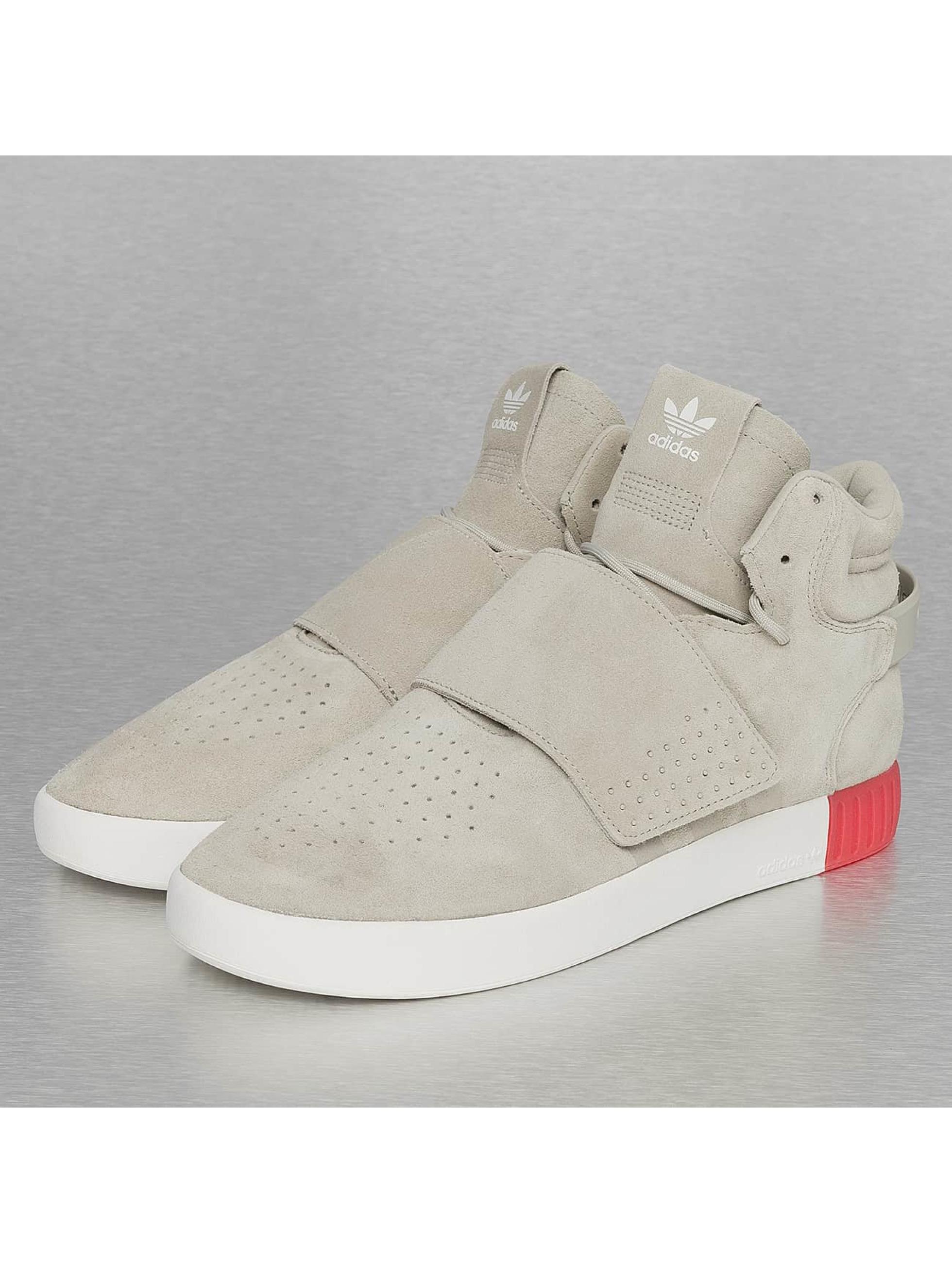 Sneaker Tubular Invader Strap in beige