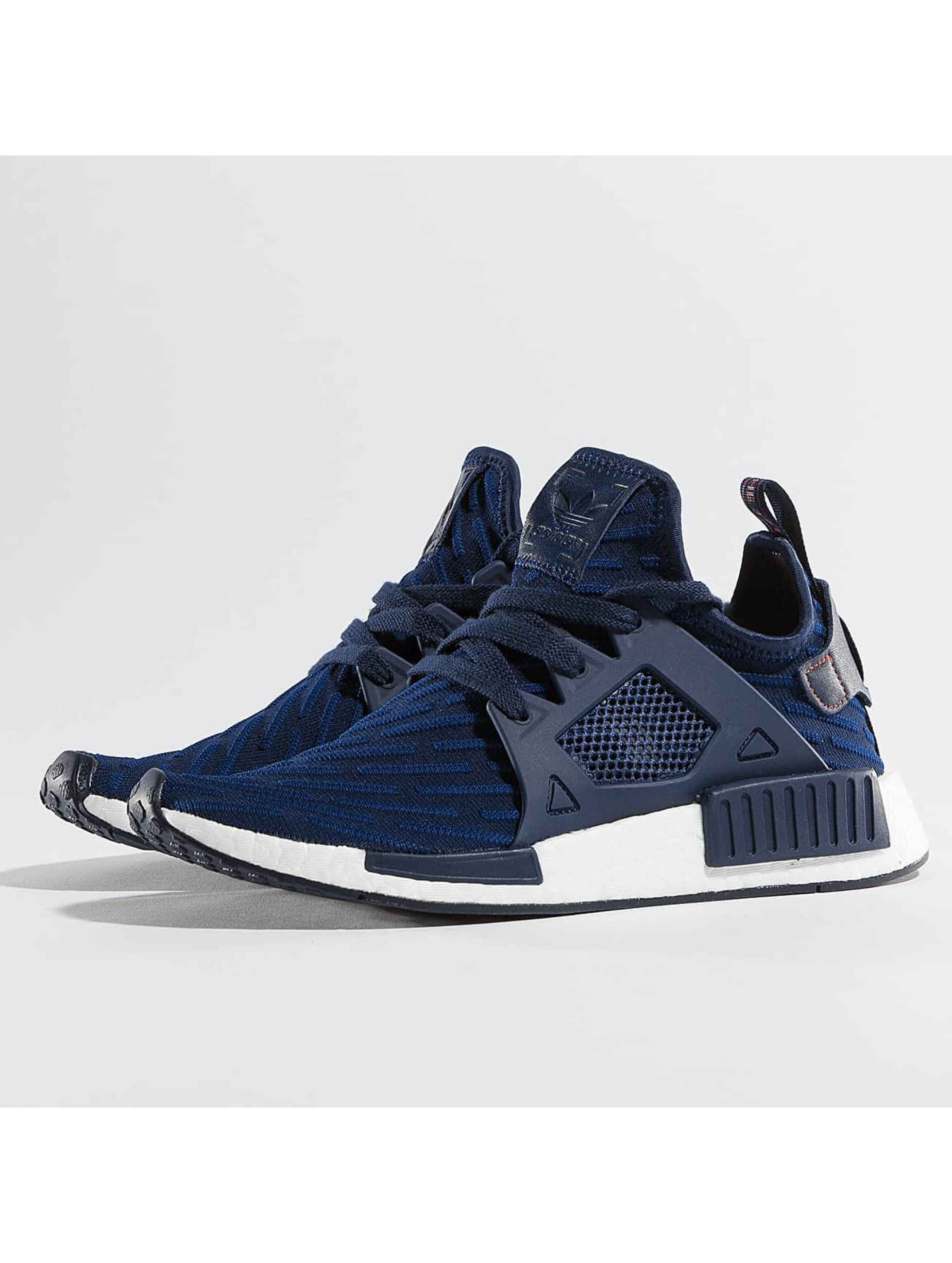 adidas damen sneaker nmd xr1 primeknit in blau 325439. Black Bedroom Furniture Sets. Home Design Ideas