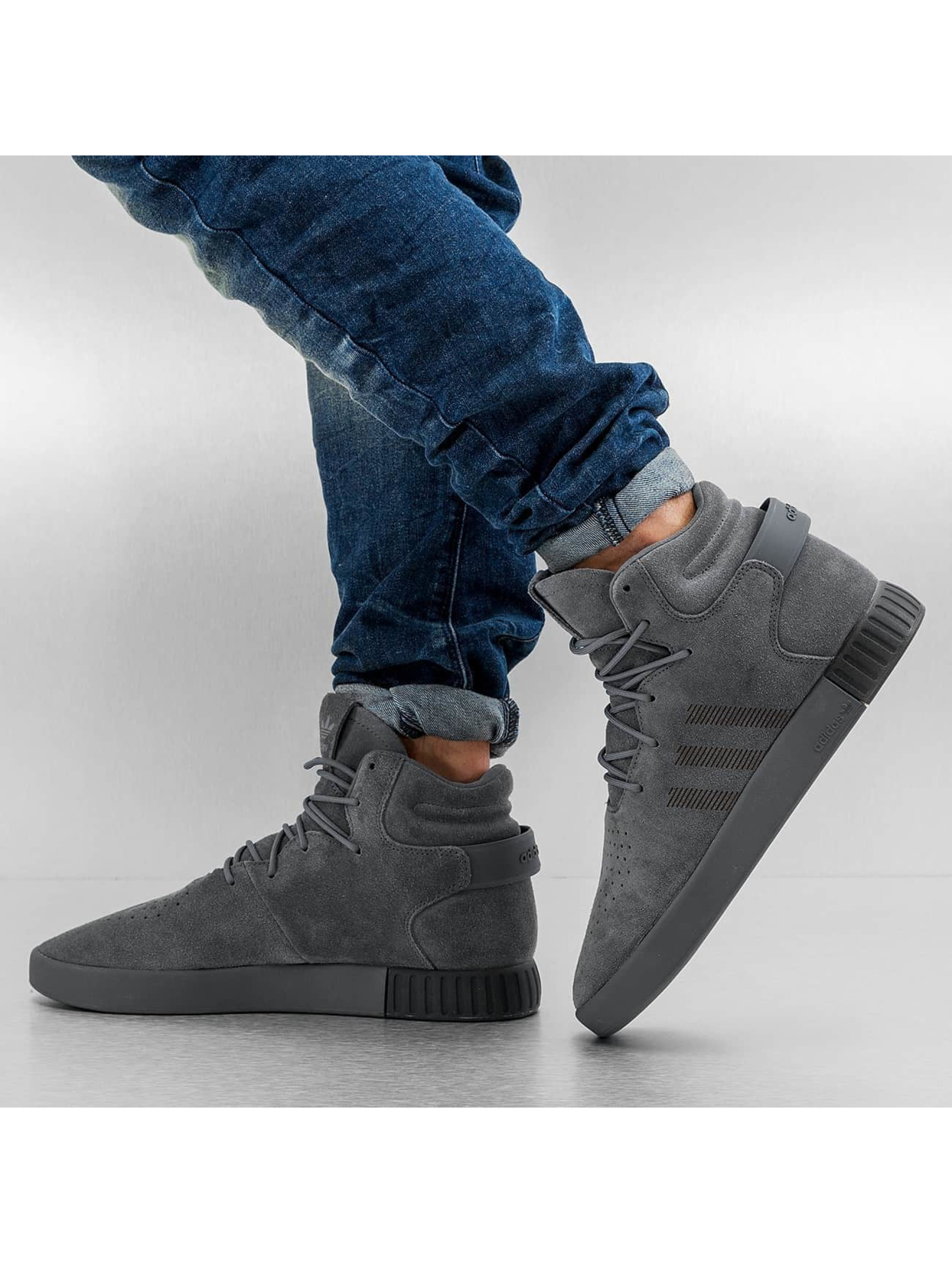adidas sneaker Tubular Invader grijs