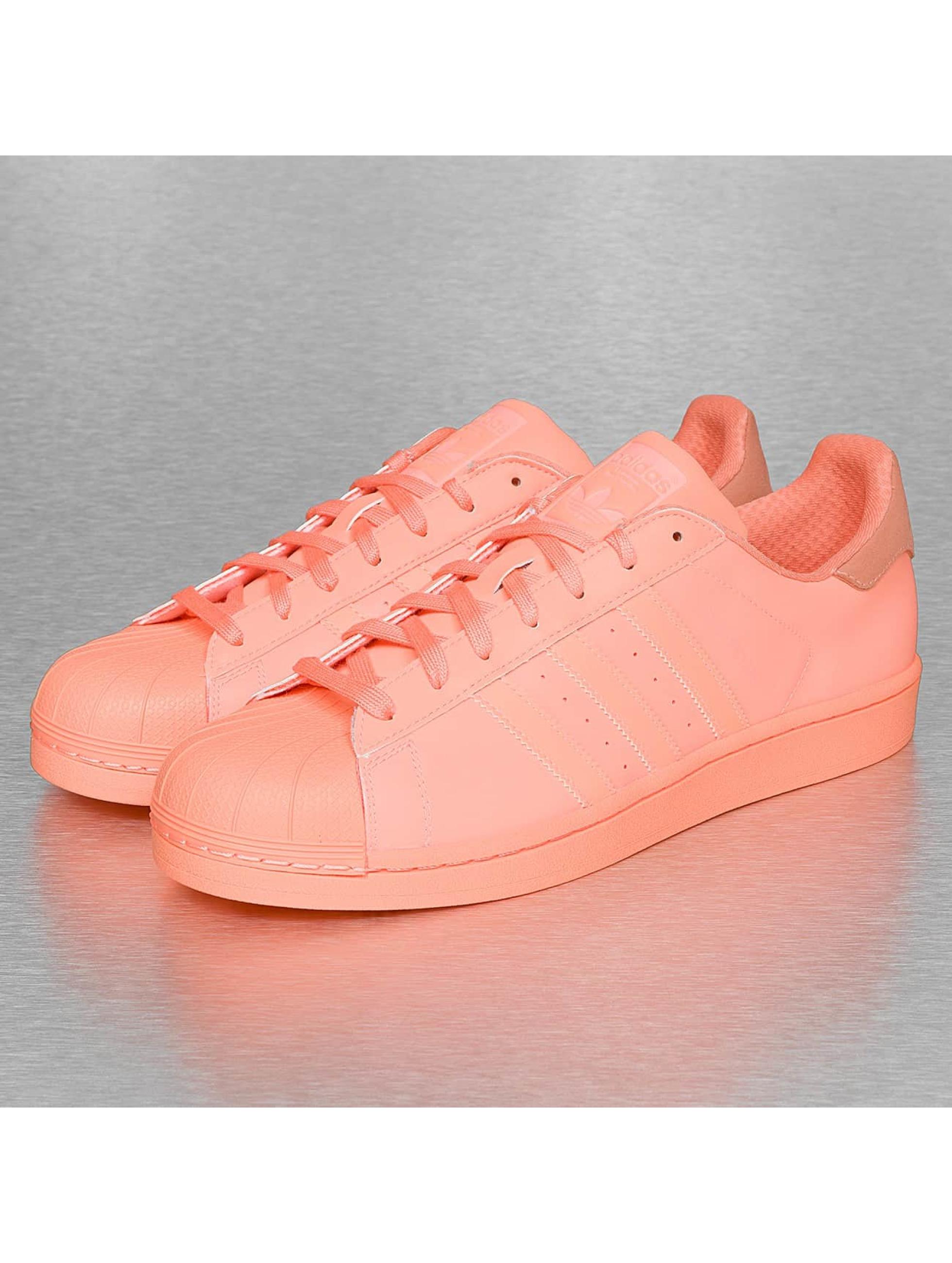 Sneaker Superstar Adicolor in orange