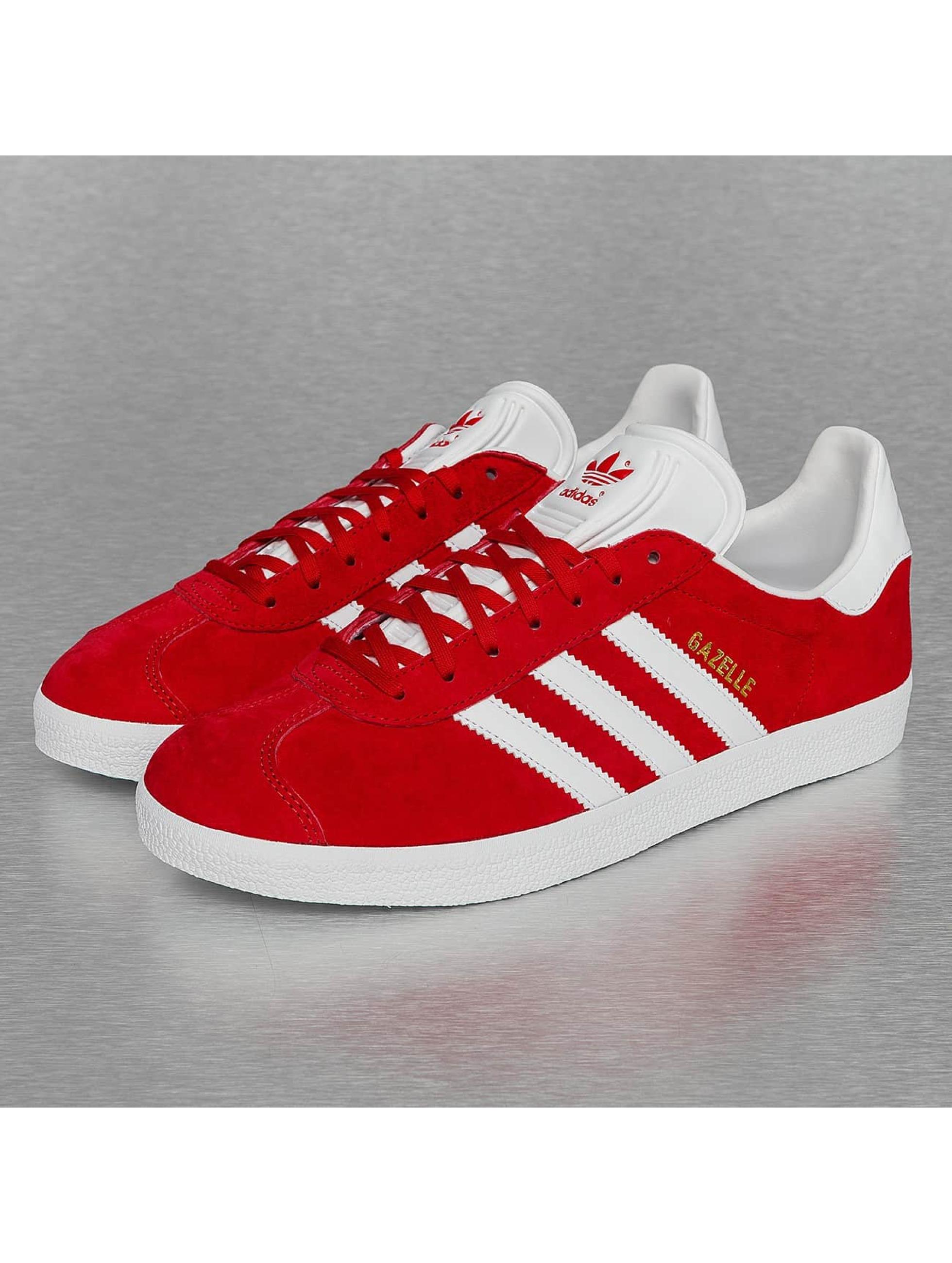 adidas schoen / sneaker Gazelle in rood