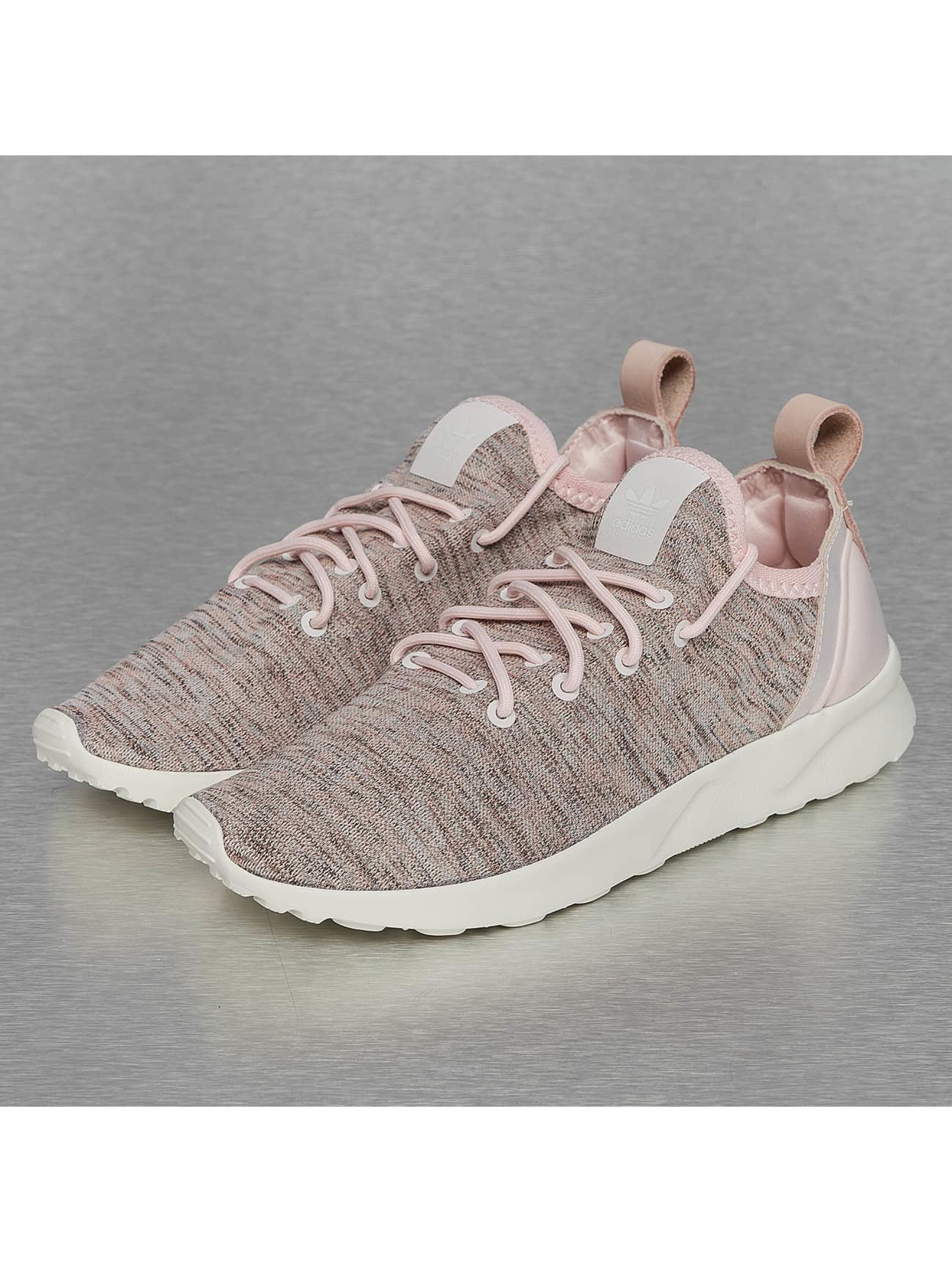 Sneaker ZX Flux ADV Virtue Sock in rosa
