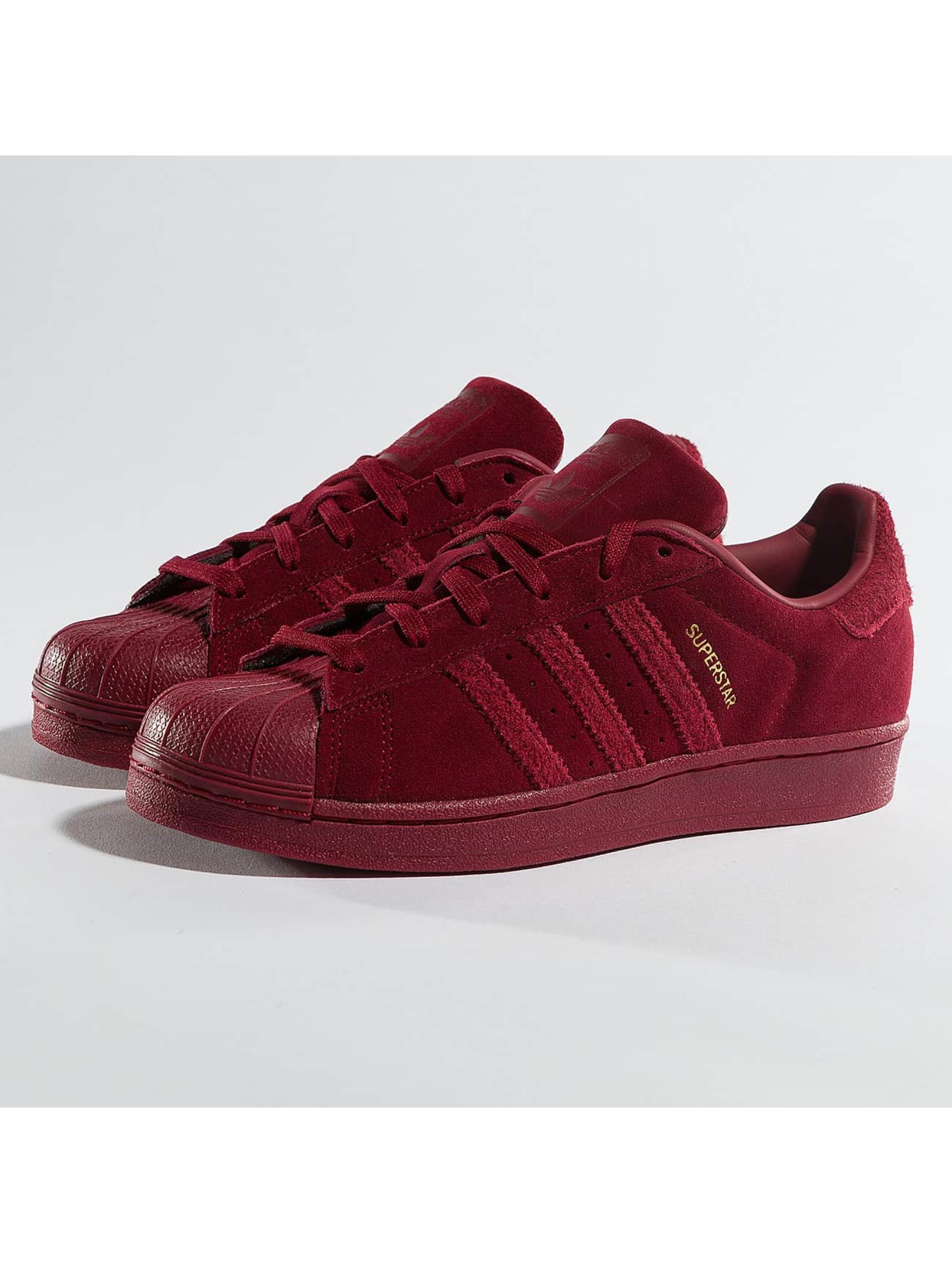 adidas Damen Sneaker Superstar Sneakers in rot 359420