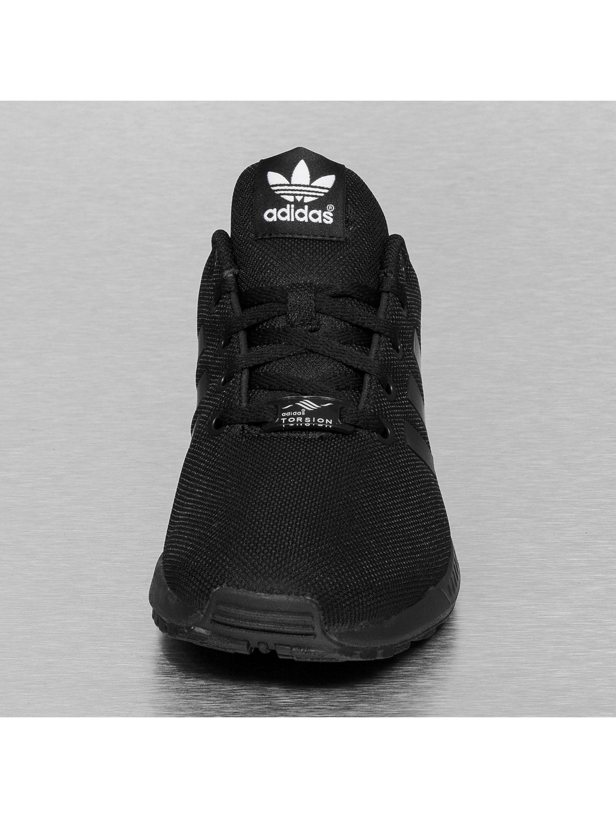 adidas damen sneaker zx flux in schwarz 187015. Black Bedroom Furniture Sets. Home Design Ideas